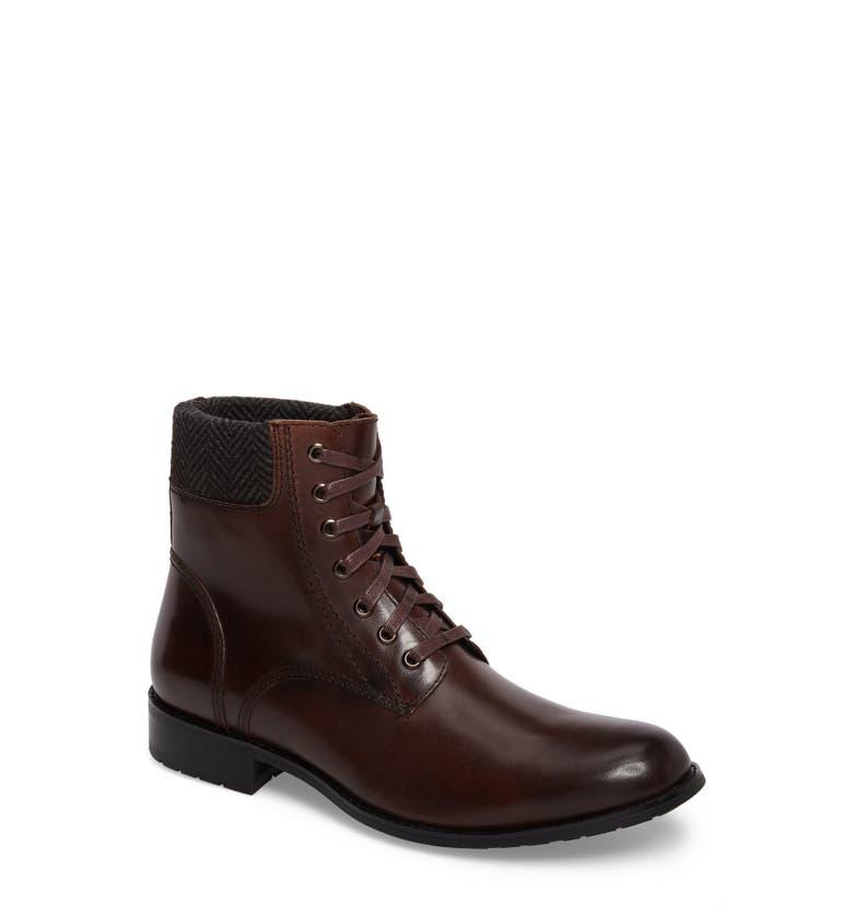 Saar Plain Toe Boot