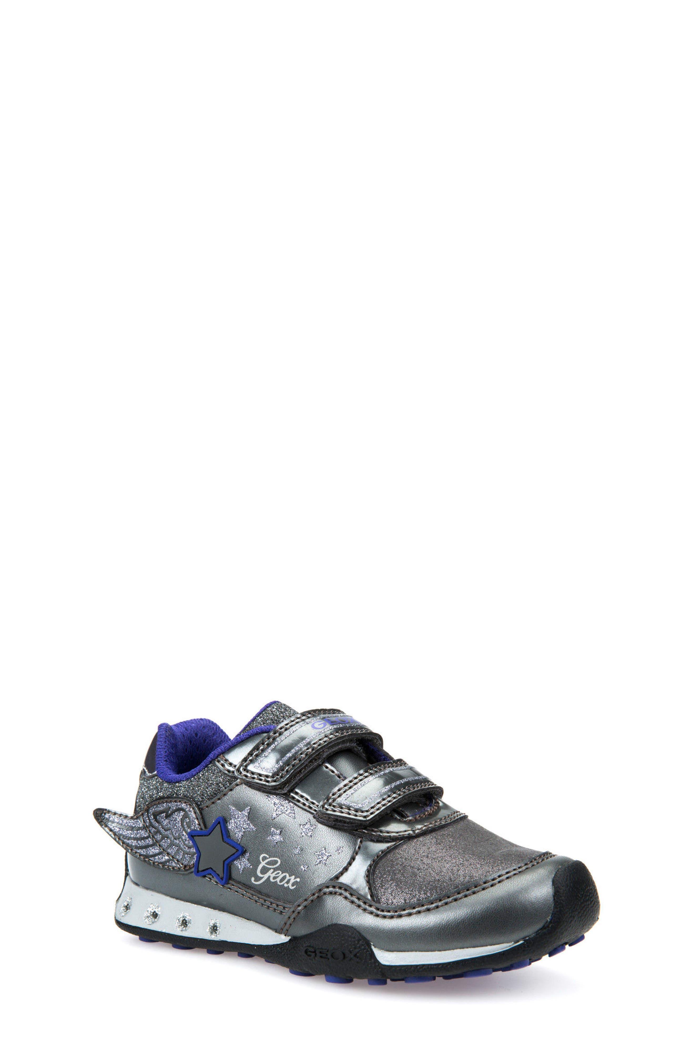 Geox New Jocker Winged Light-Up Sneaker (Toddler, Little Kid & Big Kid)