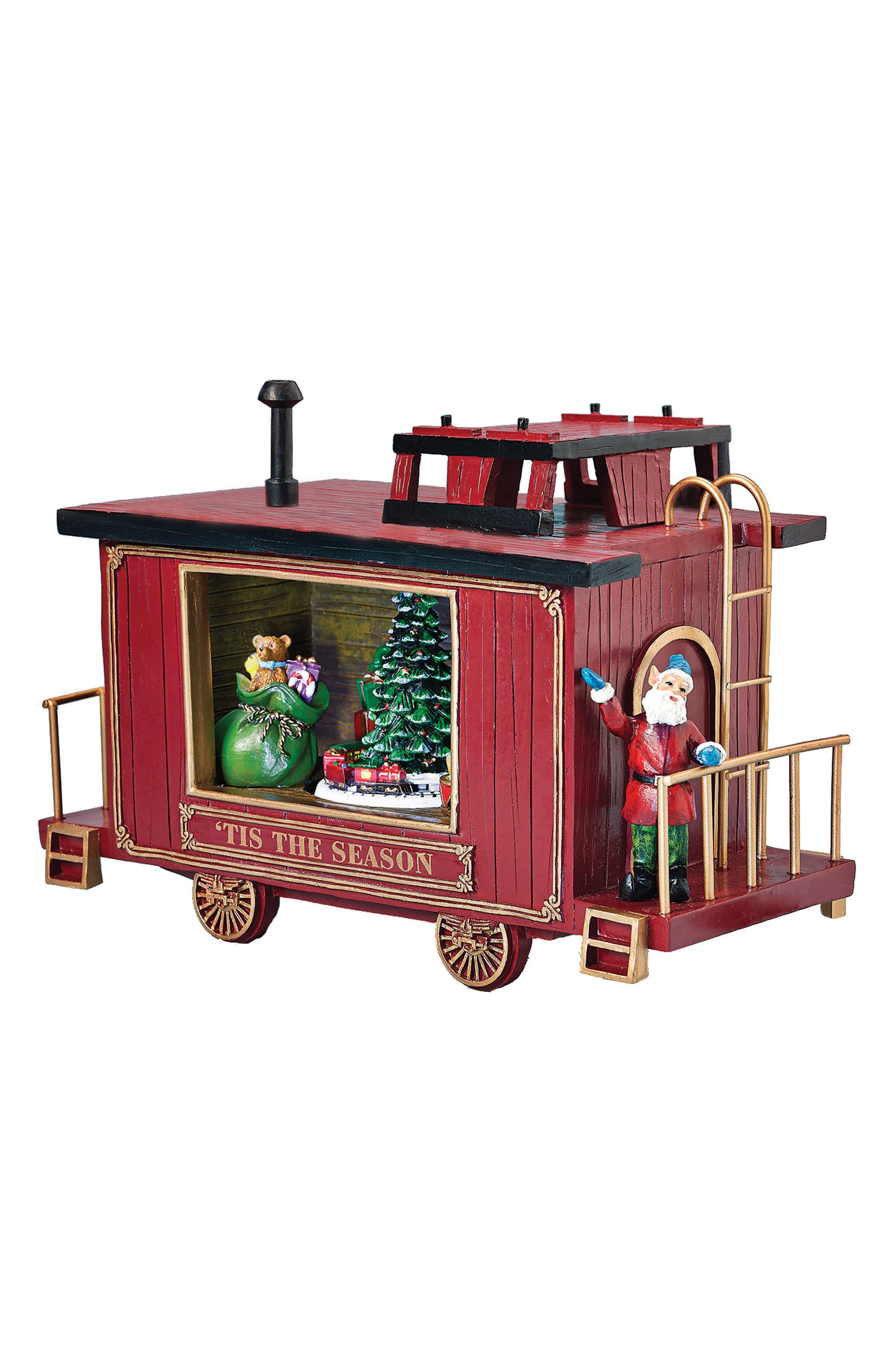 Roman Caboose Music Box
