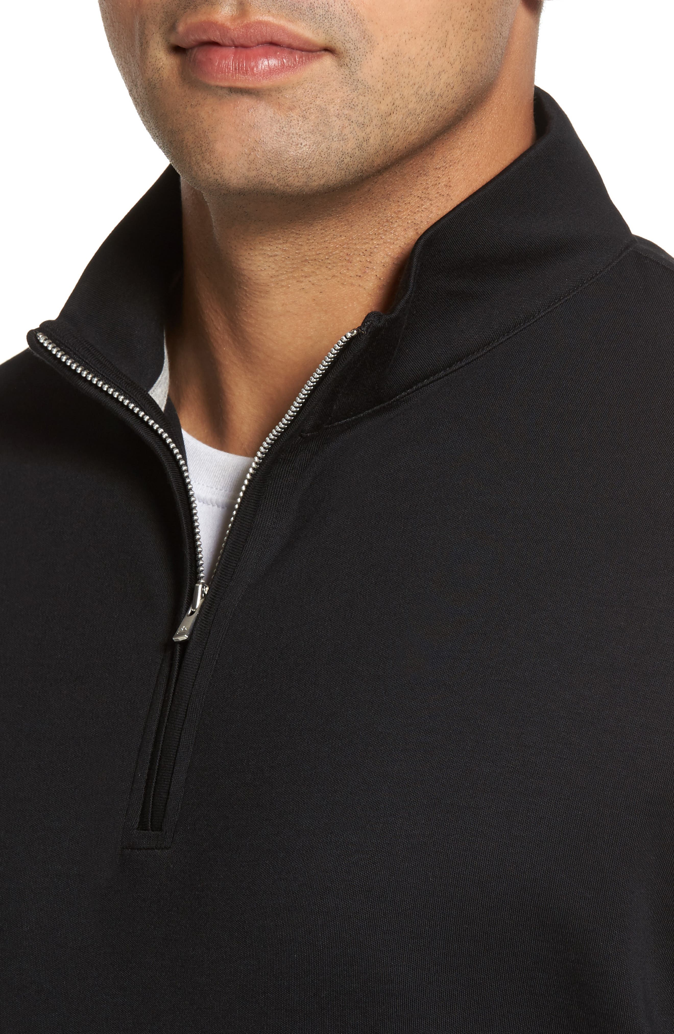 Alternate Image 4  - Peter Millar Quarter Zip Pullover