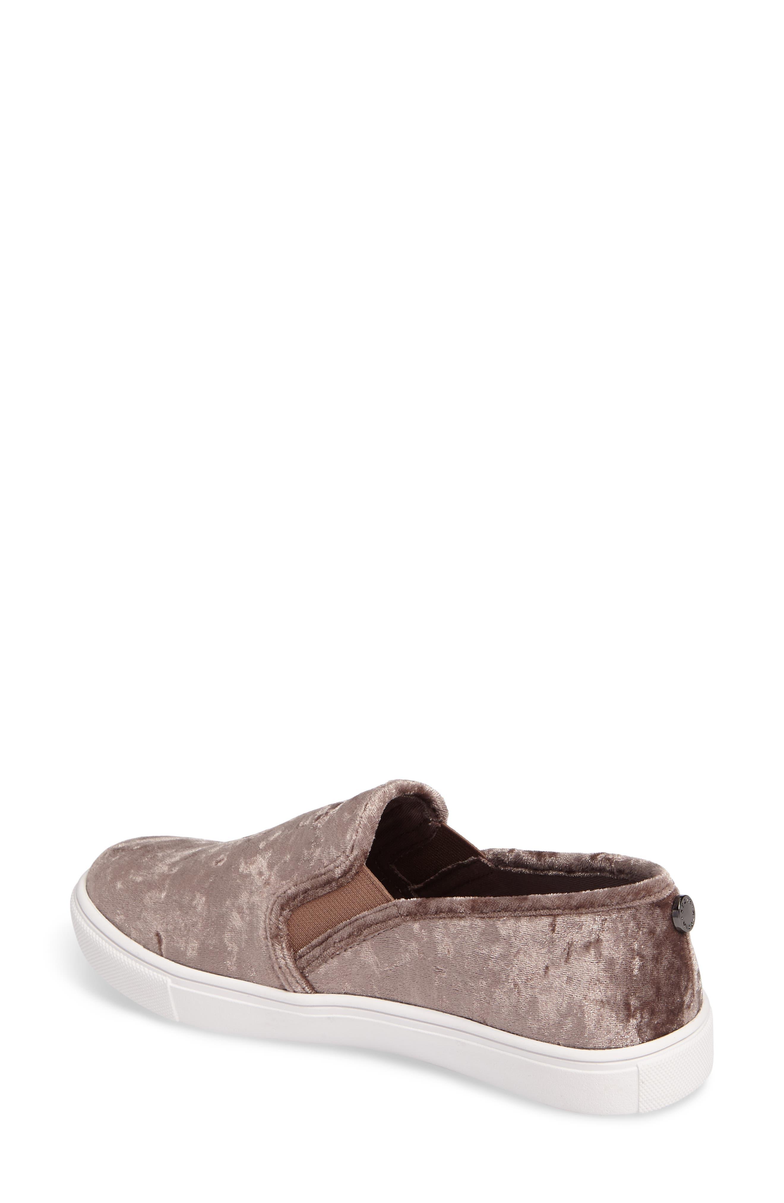 Ecntrcv Slip-On Sneaker,                             Alternate thumbnail 2, color,                             Mushroom Fabric