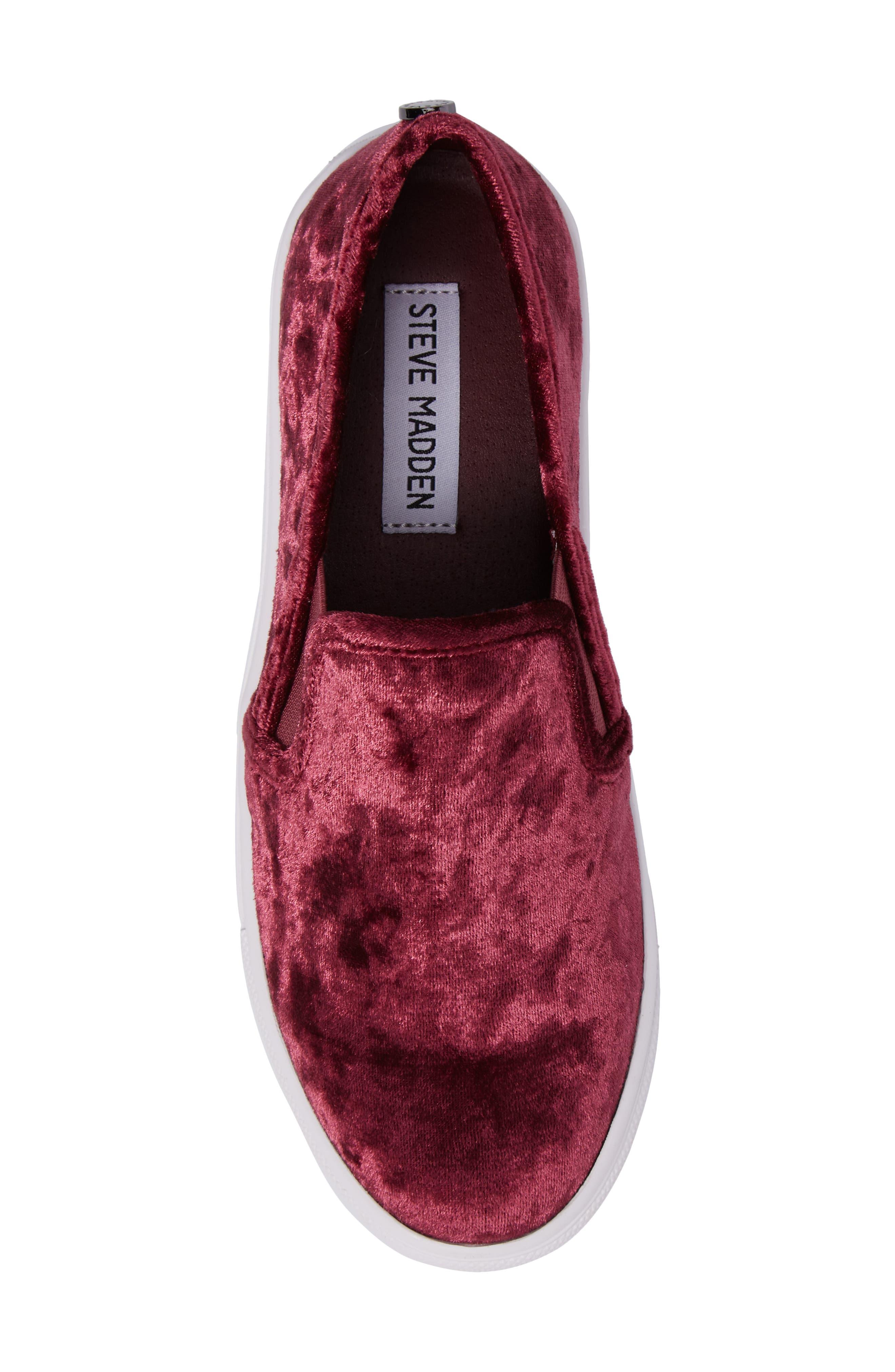 Alternate Image 5  - Steve Madden Ecntrcv Slip-On Sneaker (Women)