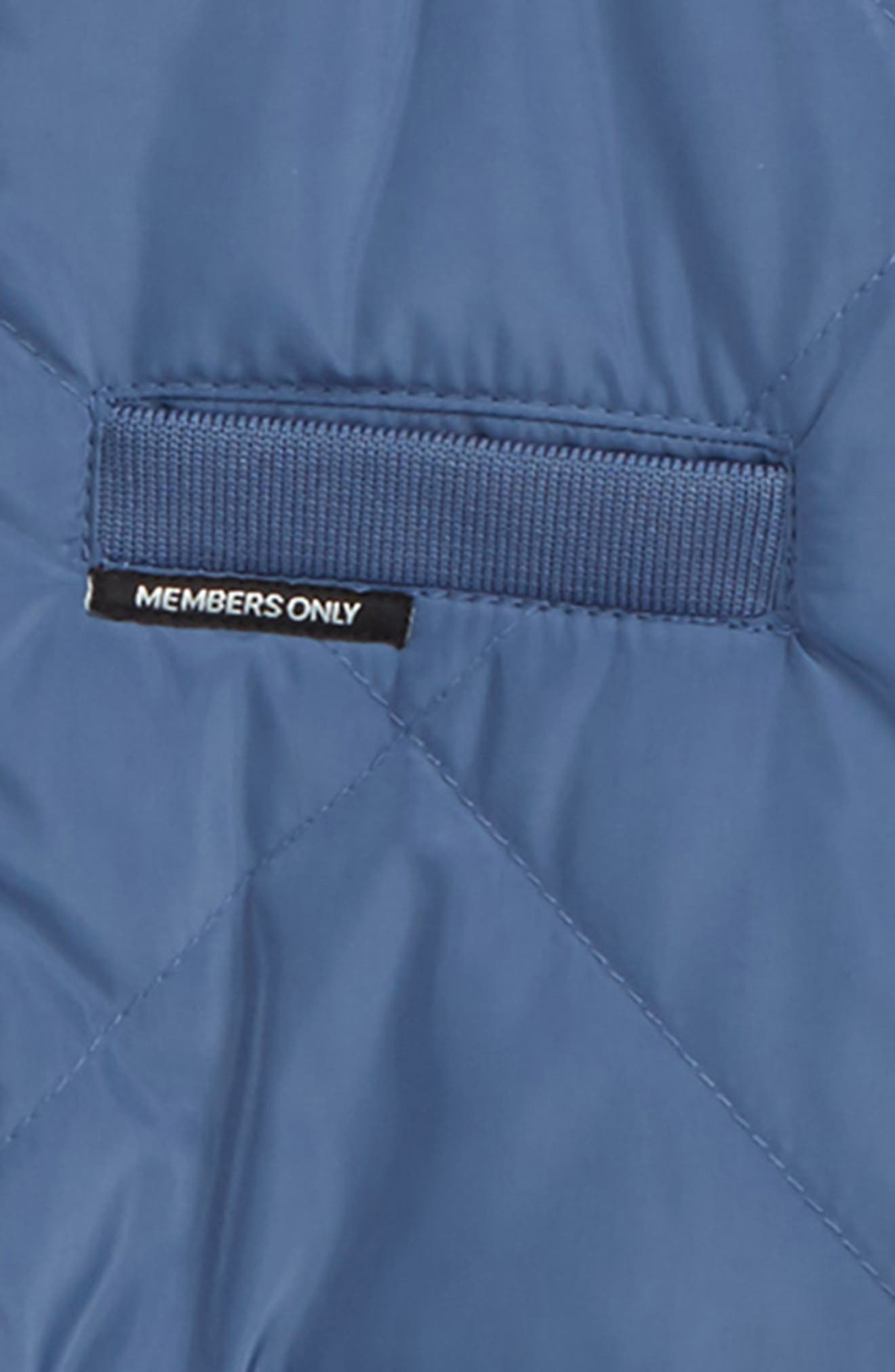 Quilted Bomber Jacket,                             Alternate thumbnail 2, color,                             Blue Horizon