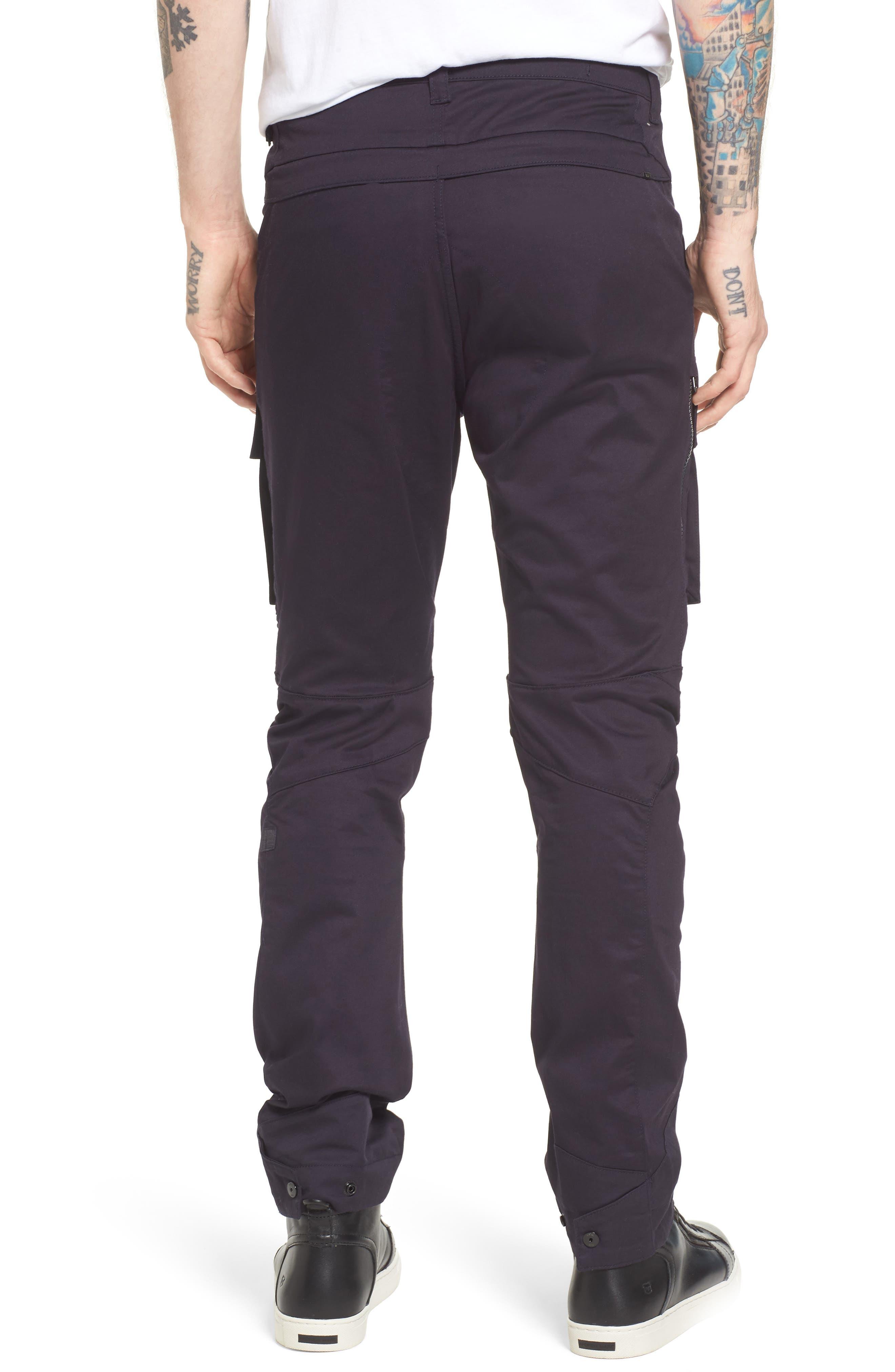 Vodan DC Slim Pants,                             Alternate thumbnail 2, color,                             Dark Naval Blue