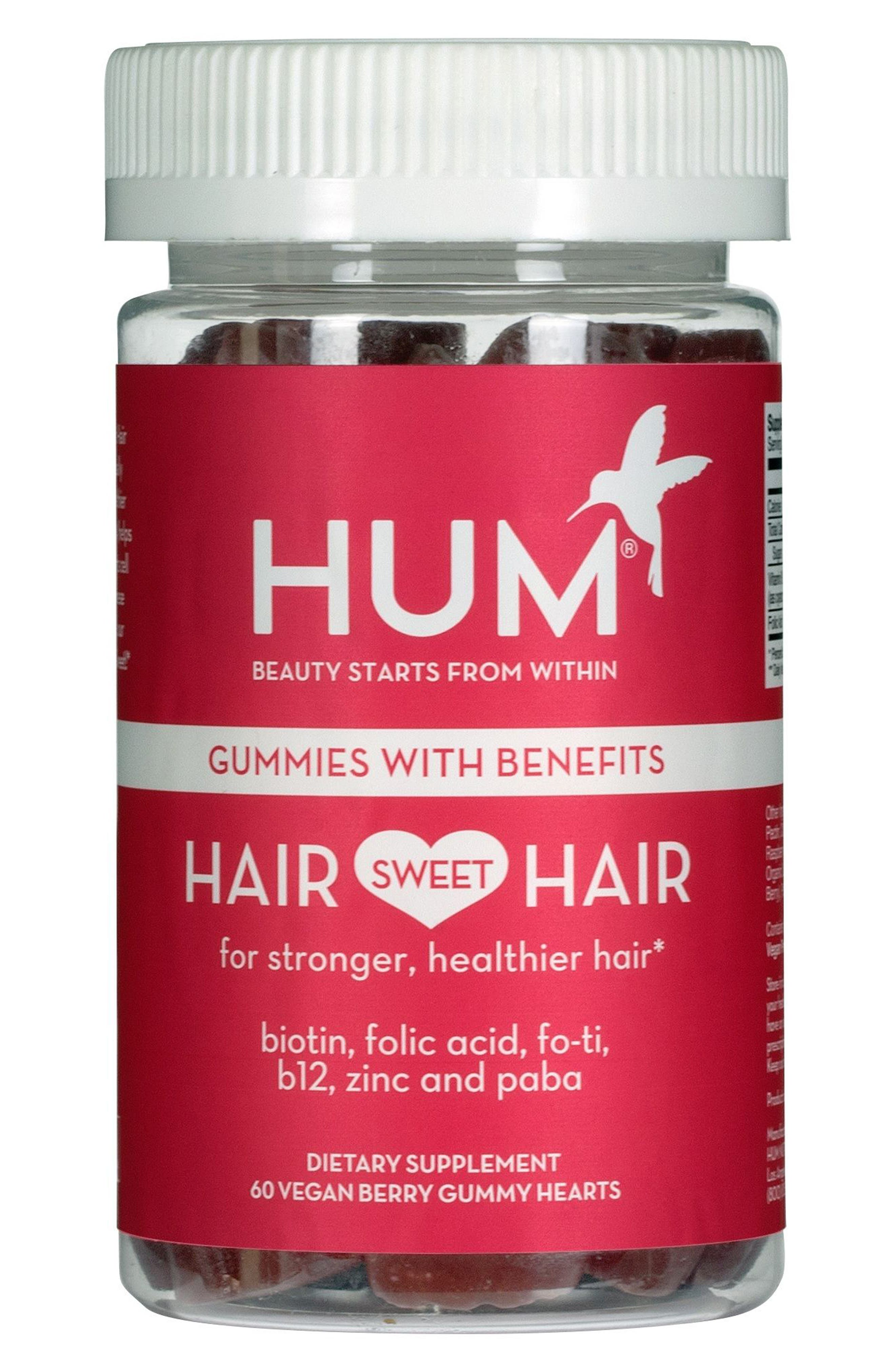 Alternate Image 1 Selected - Hum Nutrition Hair Sweet Hair Gummies Supplement for Healthy Hair