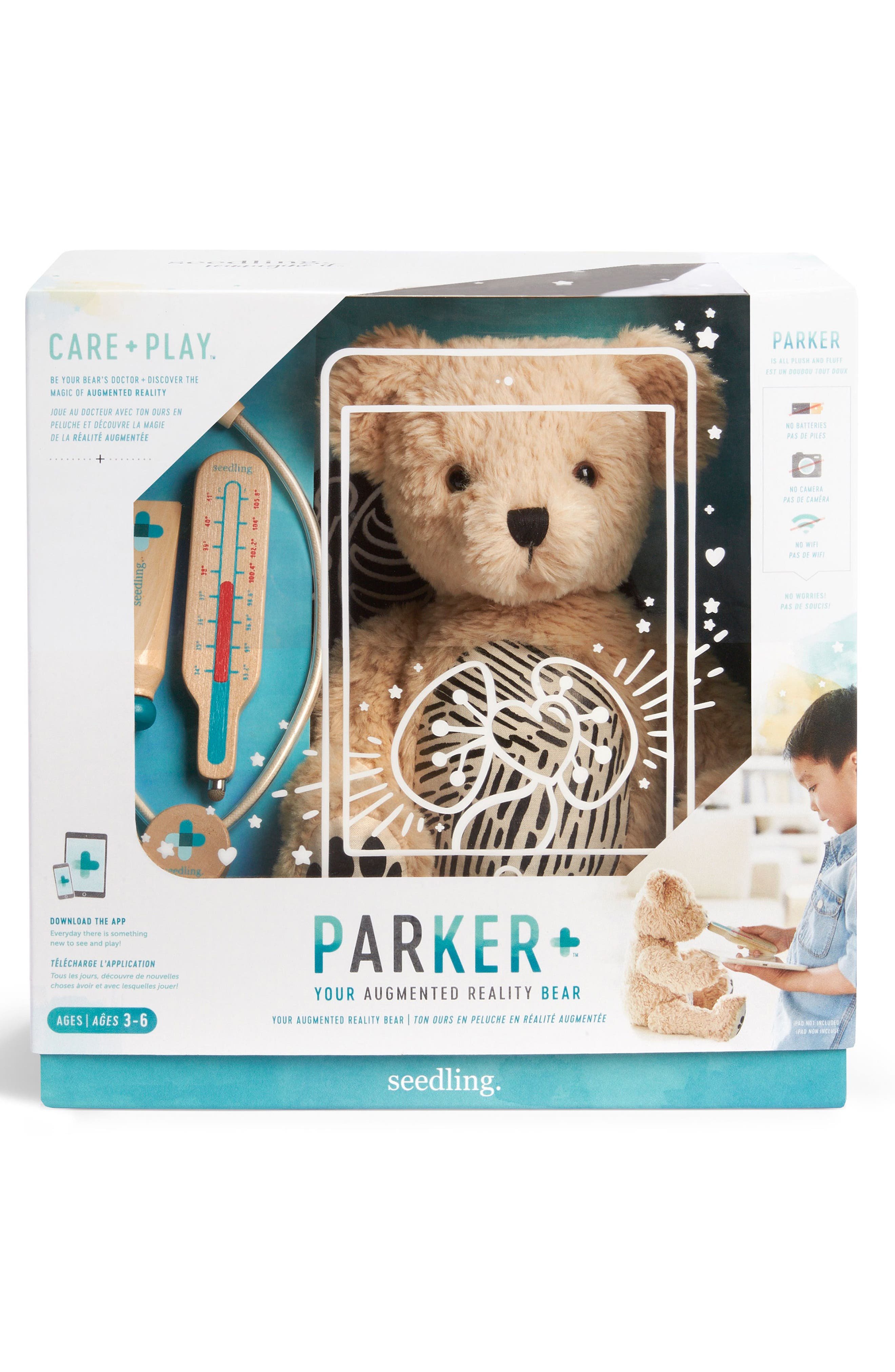 Alternate Image 4  - seedling Parker: Your Augmented Reality Interactive Stuffed Animal