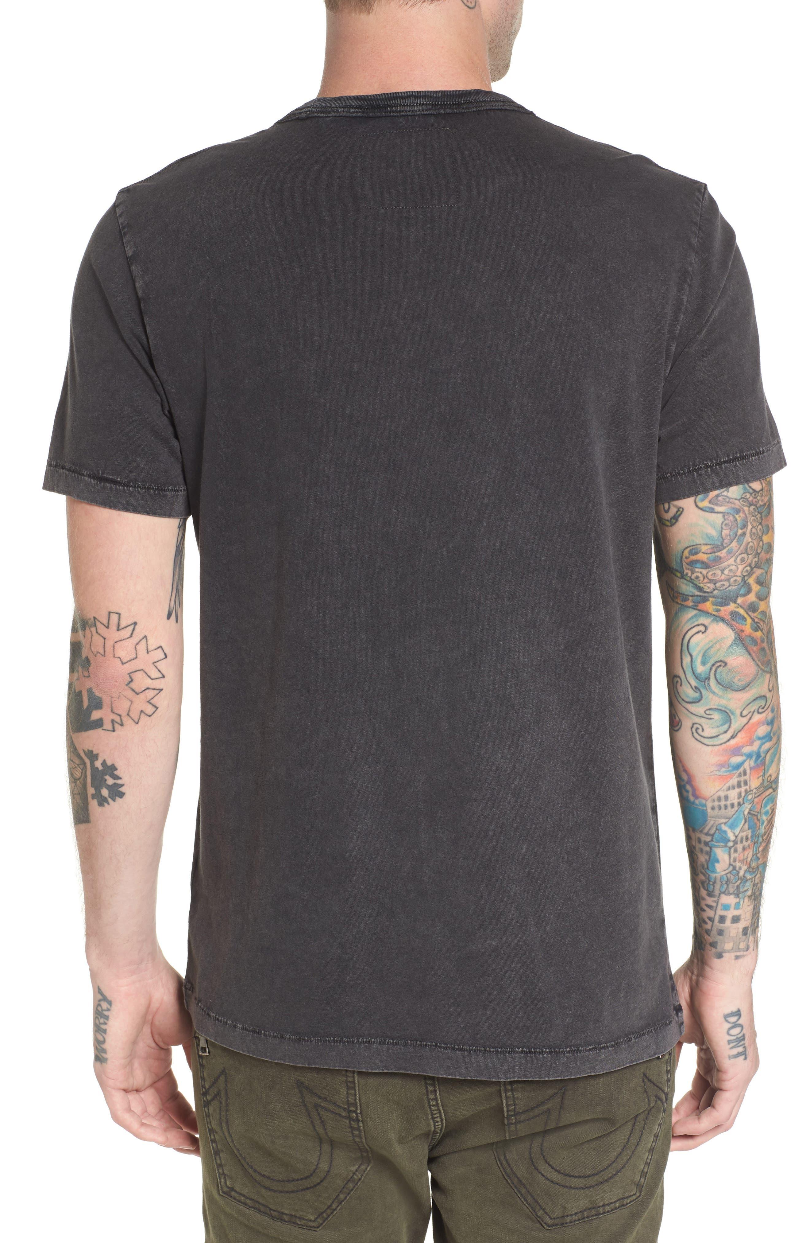 Dizzy Tour T-Shirt,                             Alternate thumbnail 2, color,                             Black