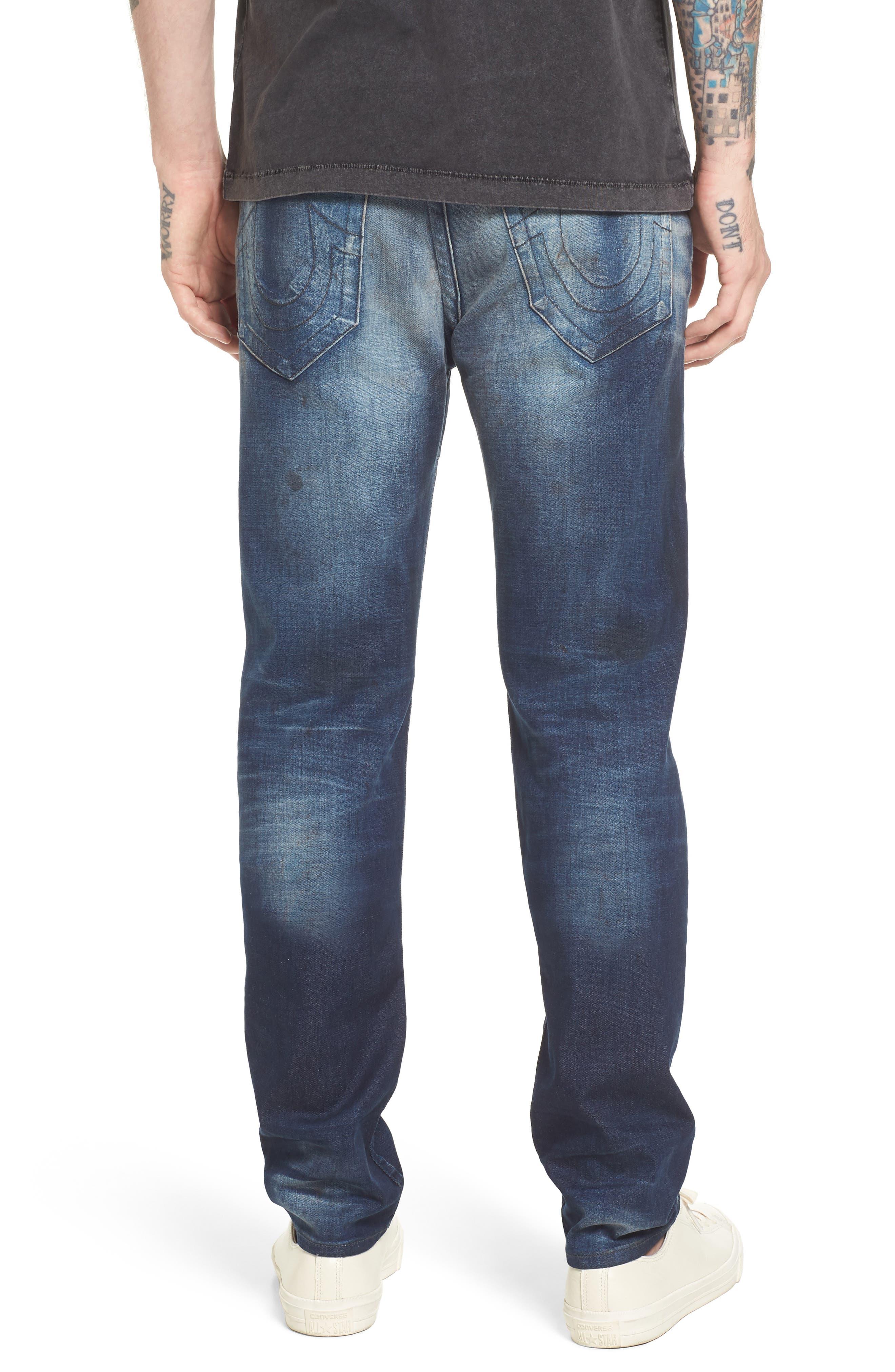 Rocco Skinny Fit Jeans,                             Alternate thumbnail 2, color,                             Loft Edge