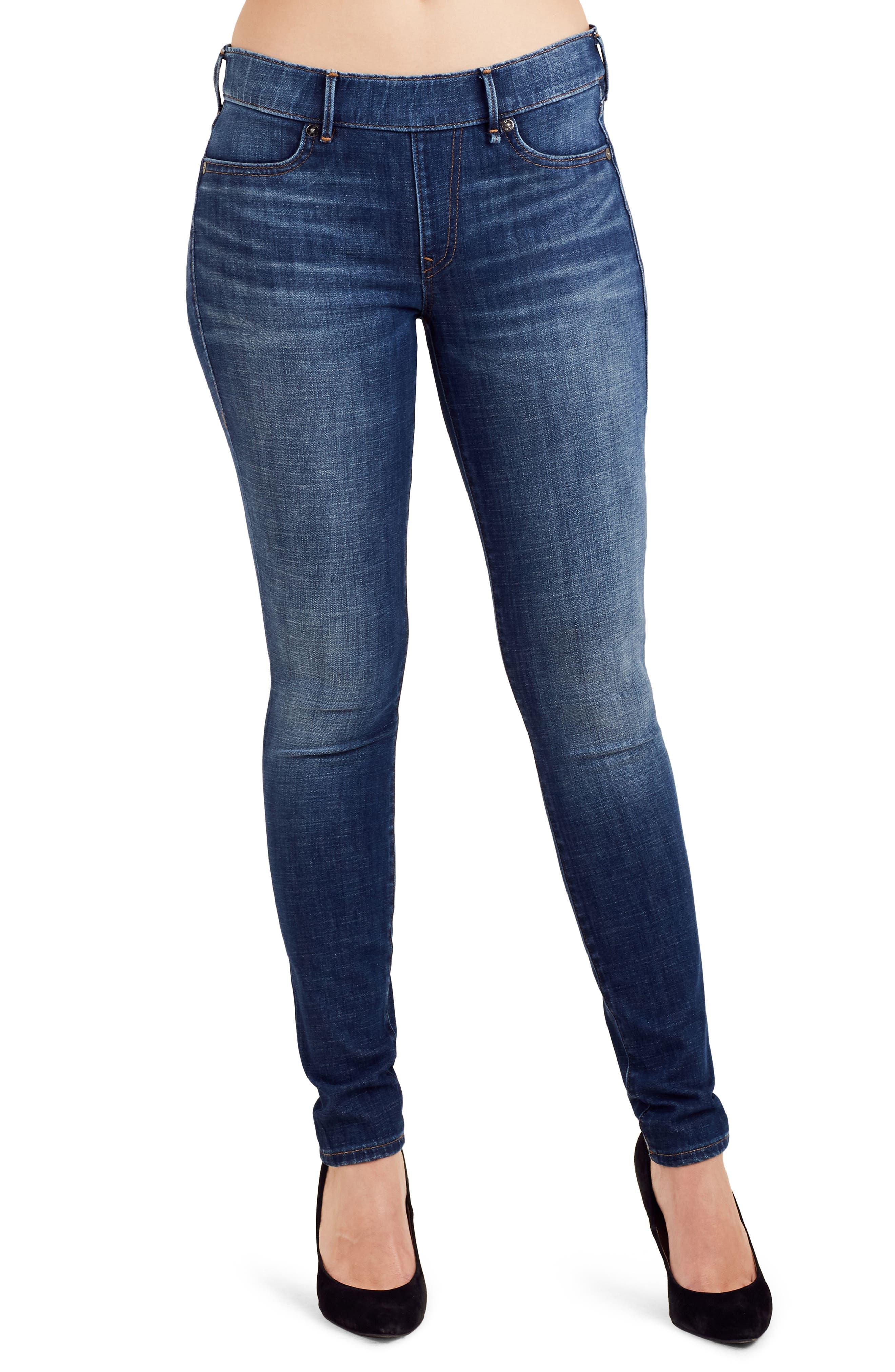 True Religion Brand Jeans Jennie Runway Curvy Skinny Jeans