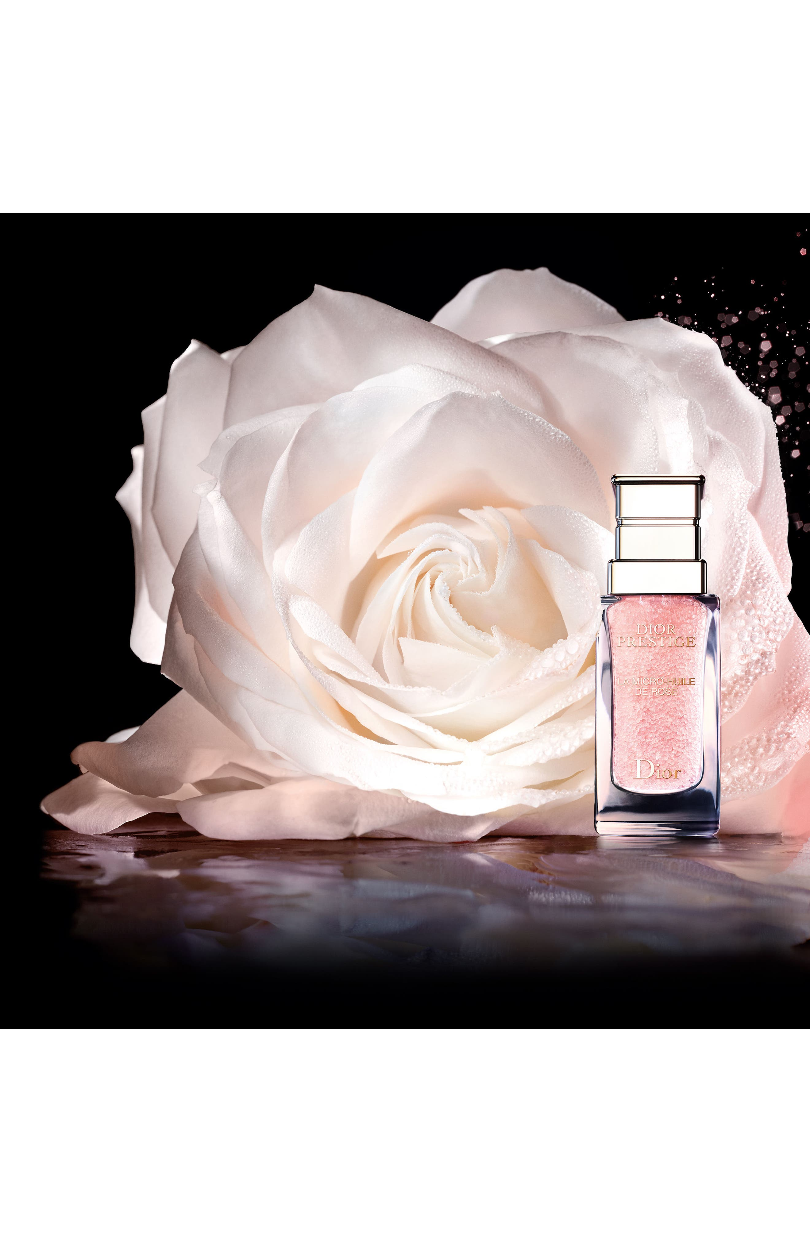 Prestige La Micro Huile de Rose Face Oil,                             Alternate thumbnail 3, color,                             No Color