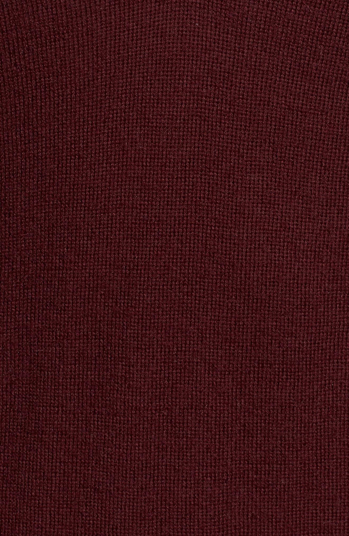 Alternate Image 5  - AG Uma V-Neck Cashmere Sweater