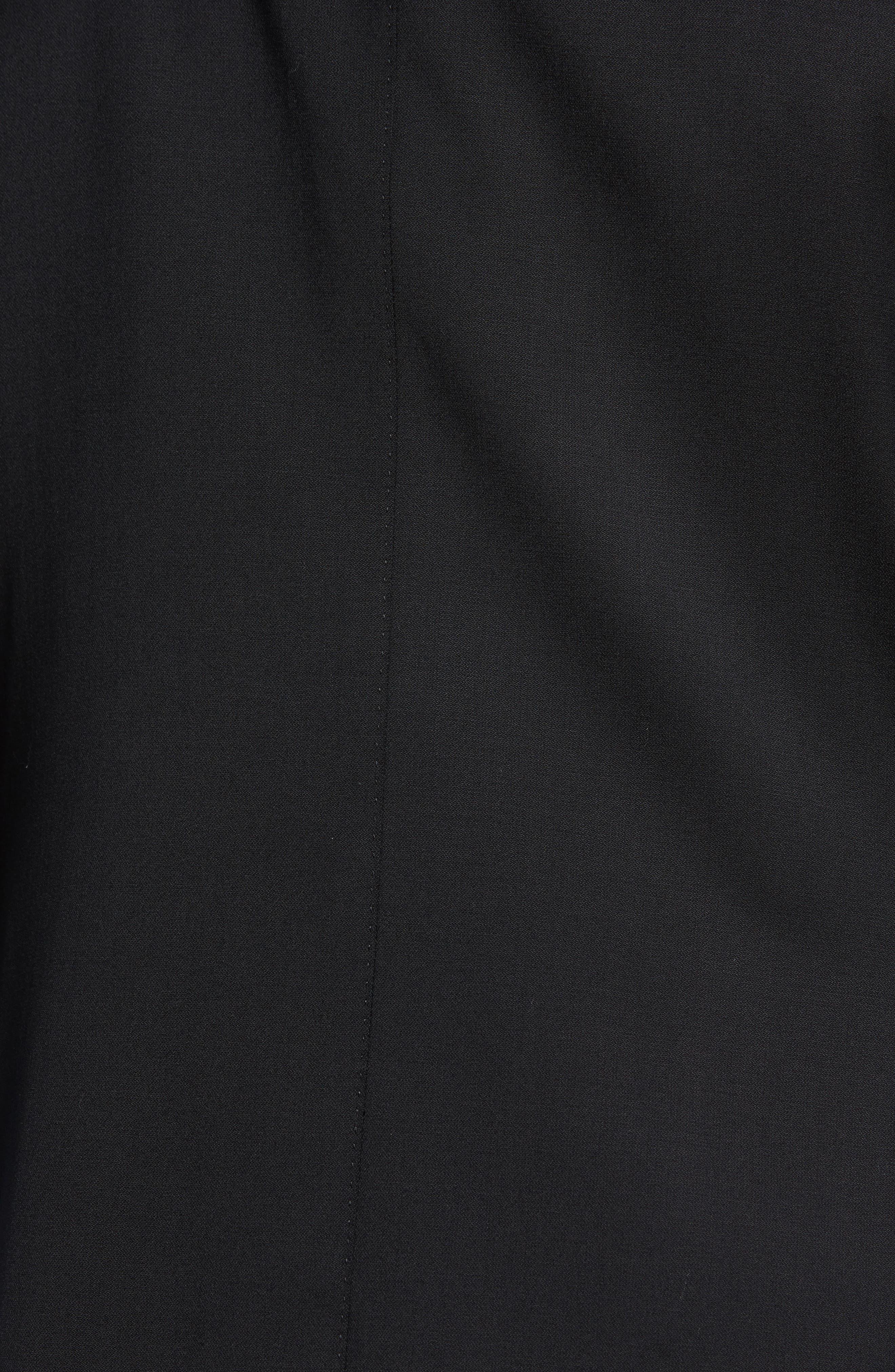 Keidis Aim Classic Fit Stretch Wool Suit,                             Alternate thumbnail 7, color,                             Black