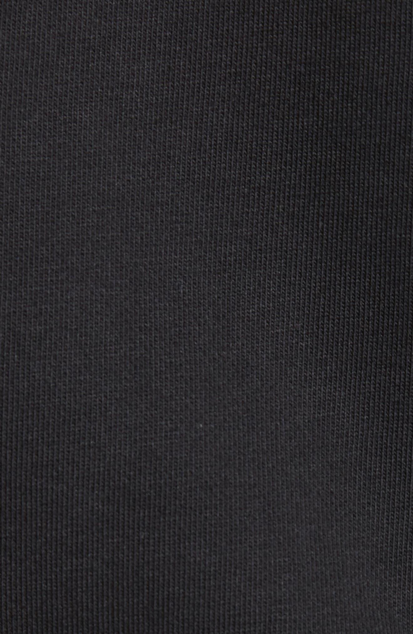 Browery Paradise Graphic Sweatshirt,                             Alternate thumbnail 5, color,                             Black