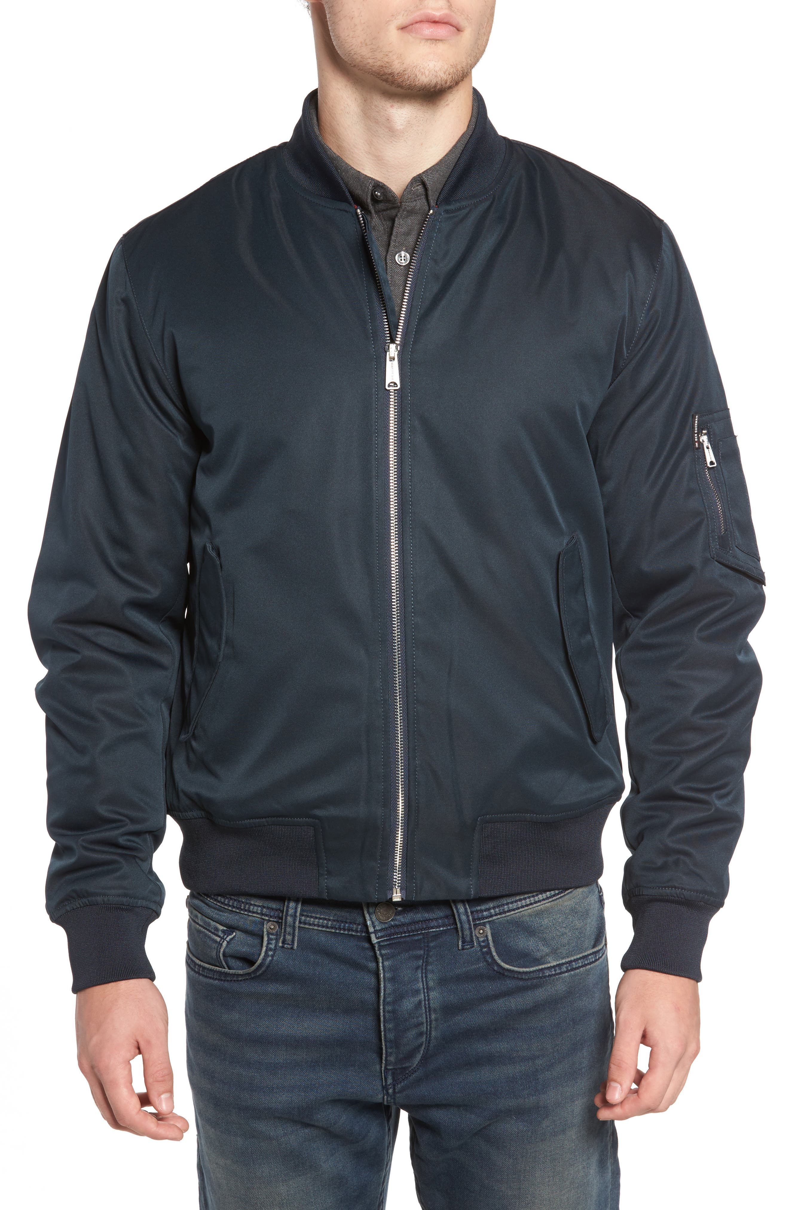 Alternate Image 5  - Ben Sherman MA1 Bomber Jacket
