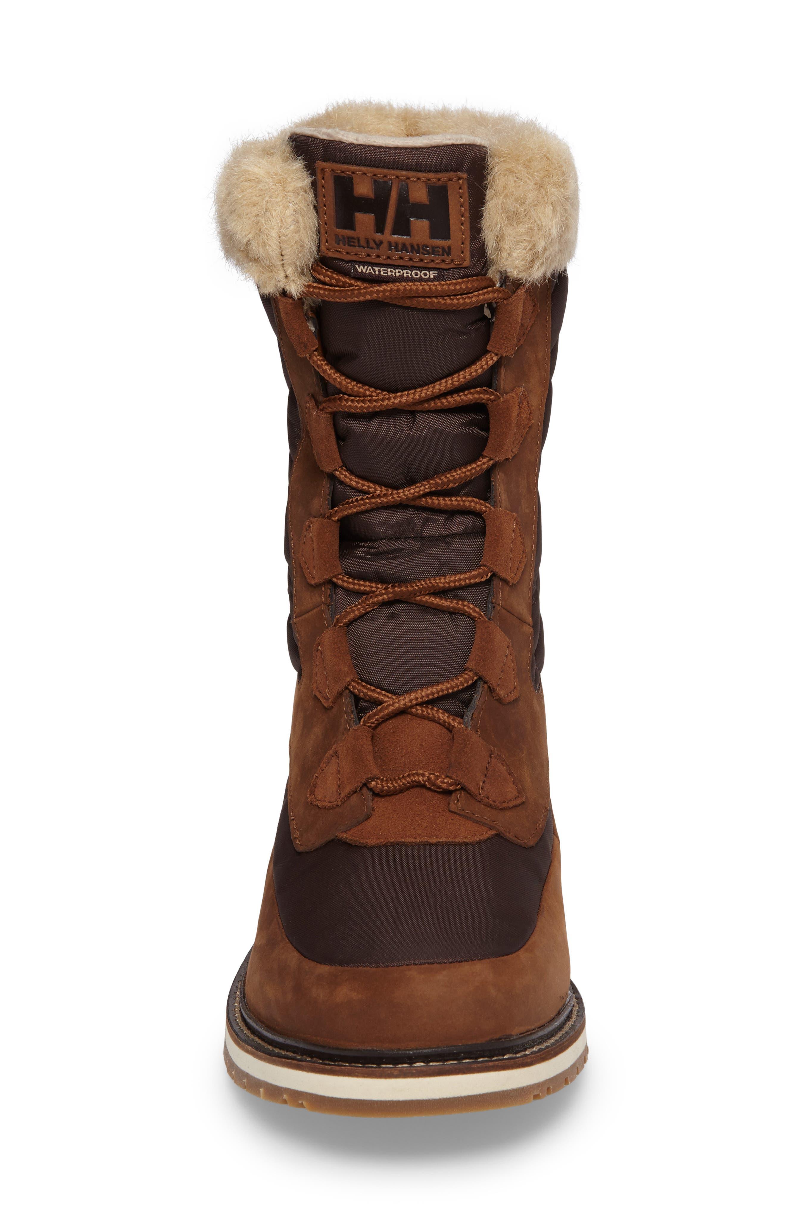 Alternate Image 4  - Helly Hansen Arosa Waterproof Boot with Faux Fur Trim (Women)