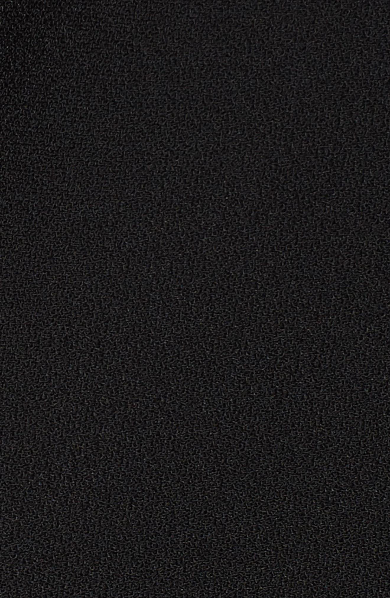 Alternate Image 5  - Sejour Drape Front Crepe Jacket (Plus Size)