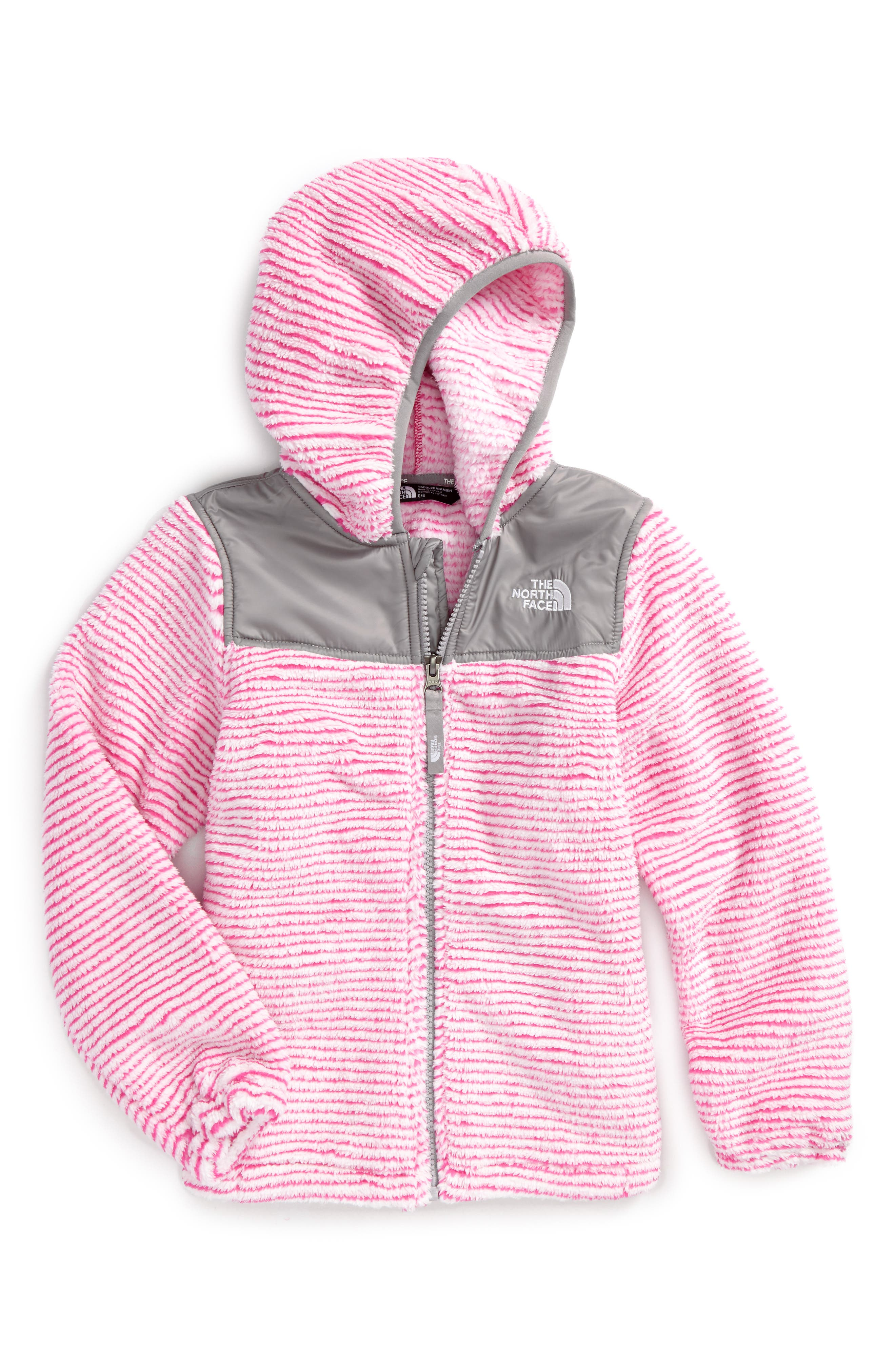 Alternate Image 1 Selected - The North Face Oso Fleece Hoodie (Toddler Girls & Little Girls)