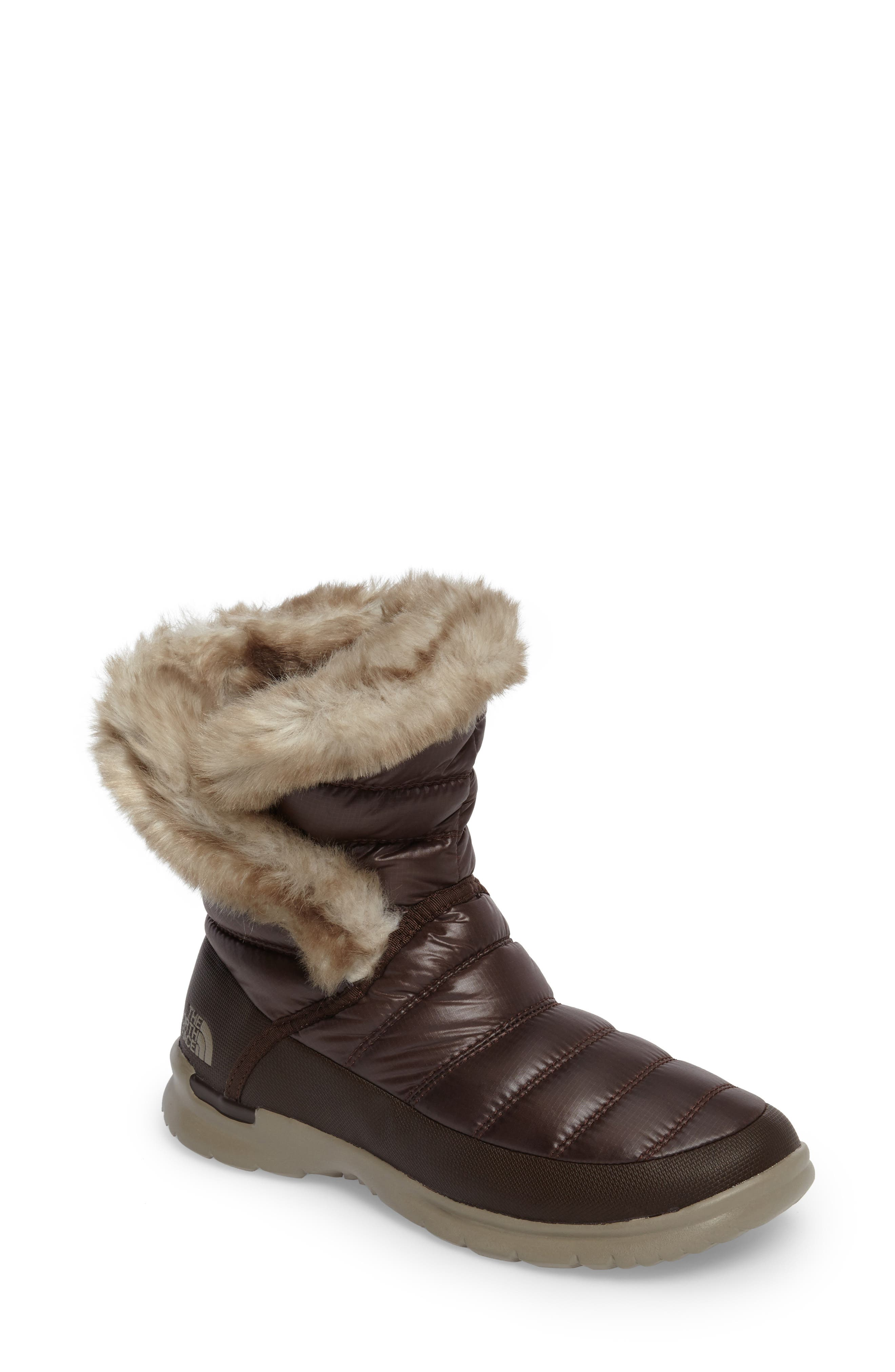 Alternate Image 1 Selected - The North Face Microbaffle Waterproof ThermoBall™ Insulated Winter Boot (Women)