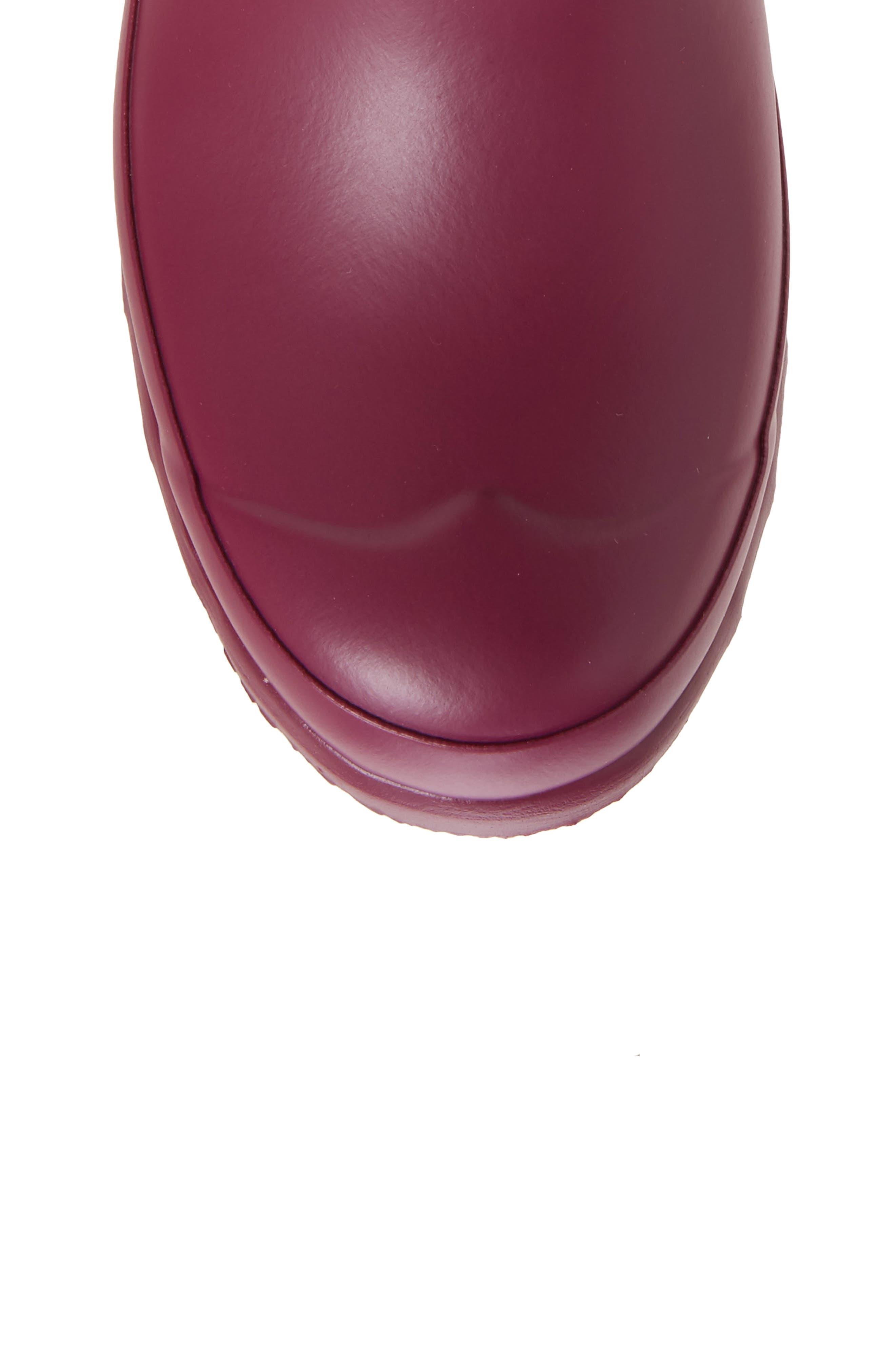 Alternate Image 5  - Hunter 'Original Tall' Rain Boot (Women)