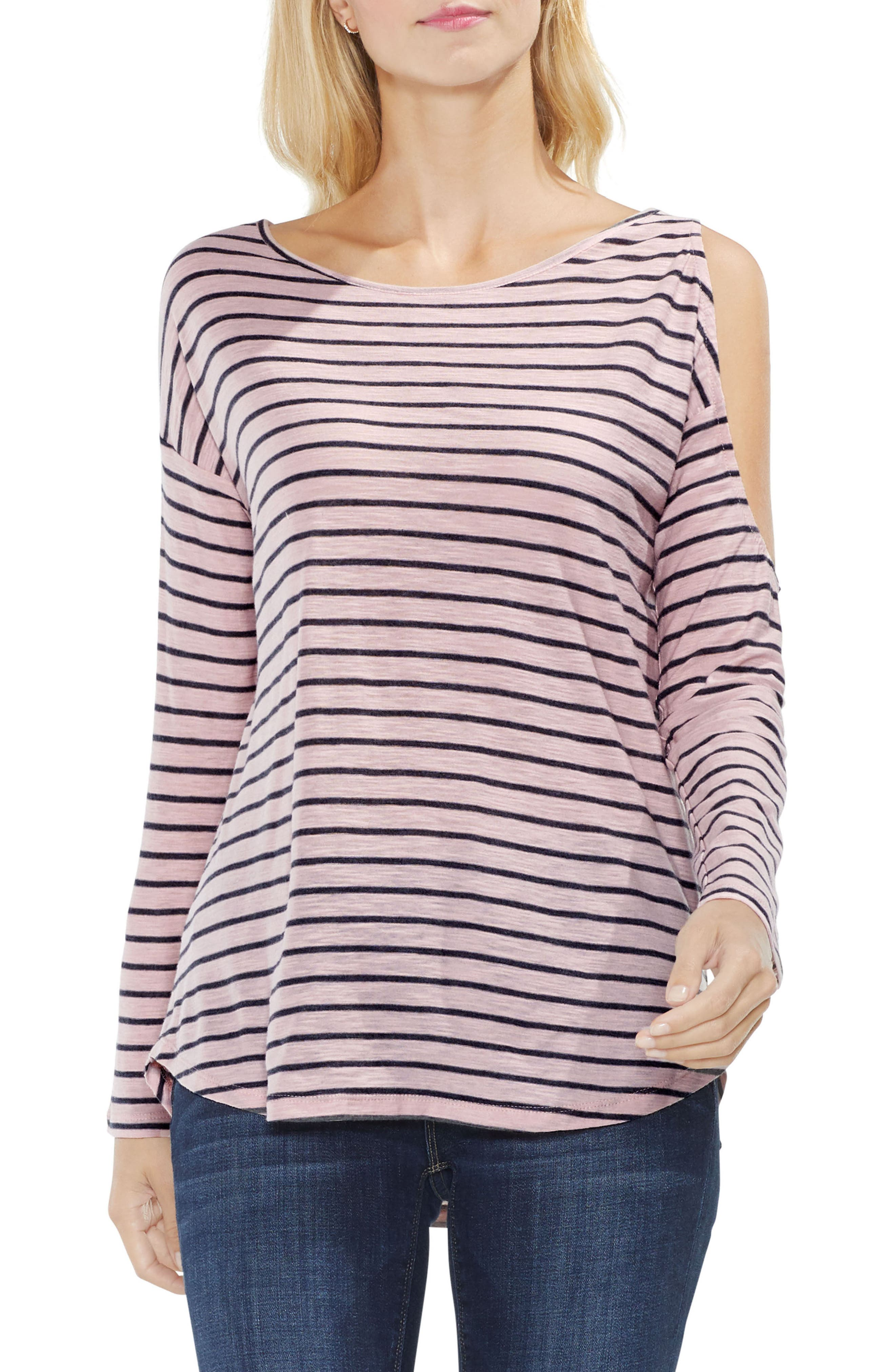 Alternate Image 1 Selected - Two by Vince Camuto Rapid Stripe Top