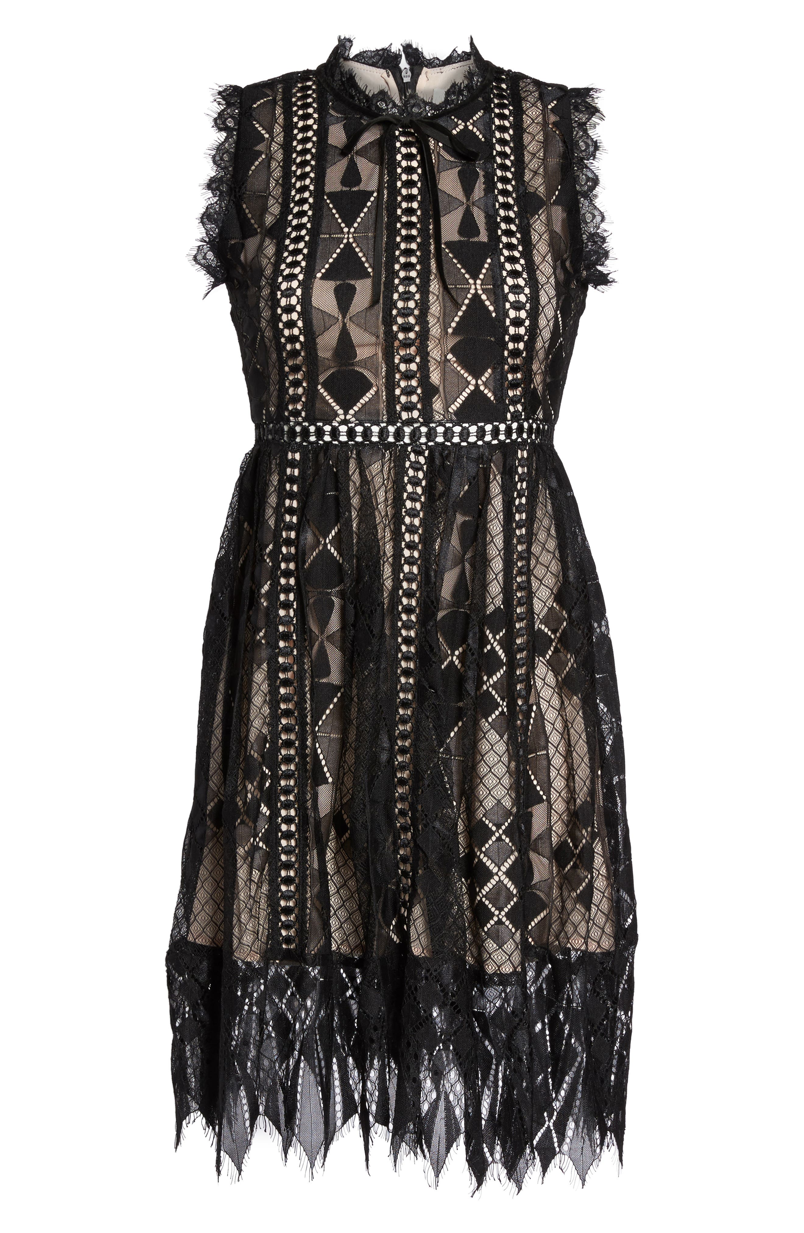 Alternate Image 6  - Foxiedox Florence Frills Dress