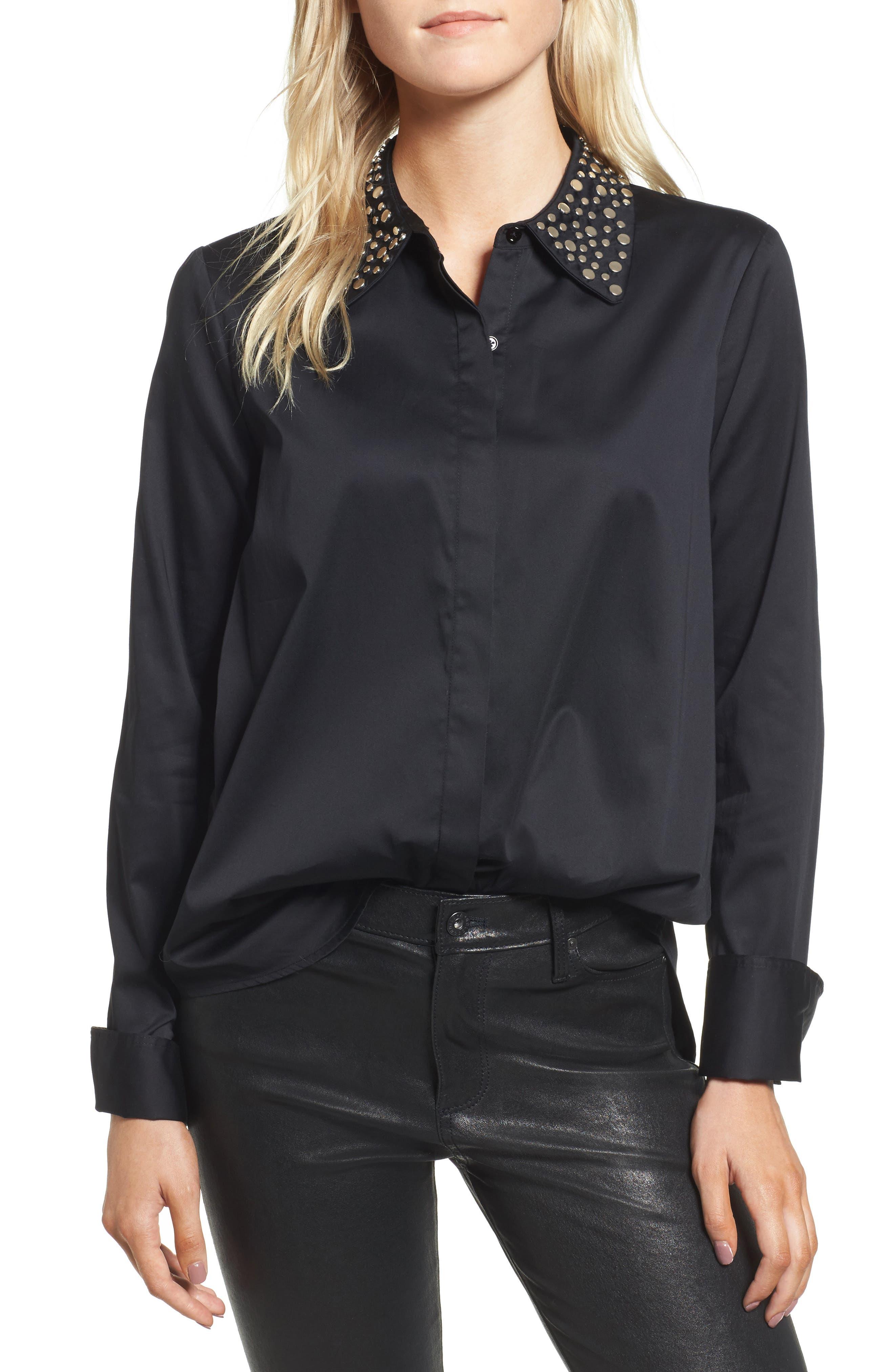 Main Image - AG Camilla Studded Shirt