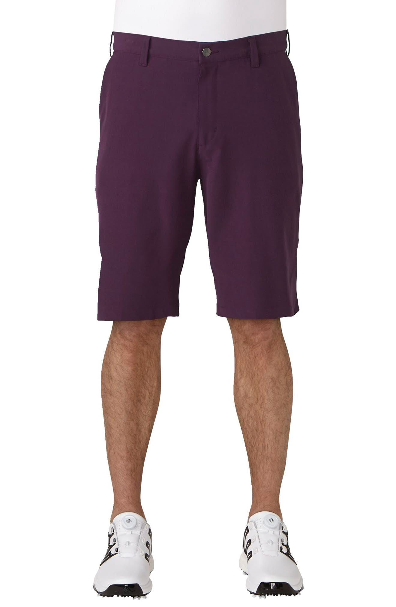 'Ultimate' Golf Shorts,                         Main,                         color, Red Night