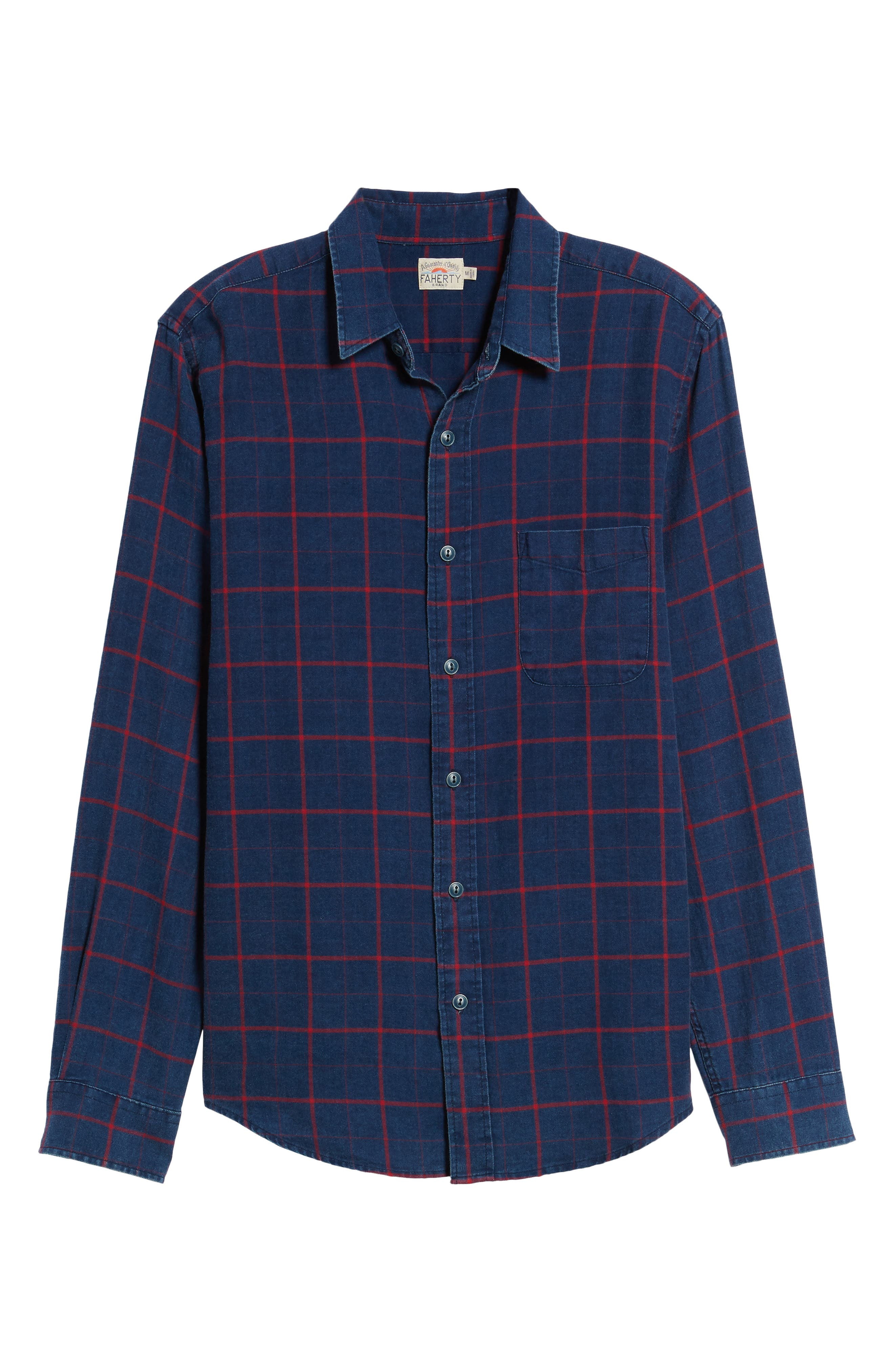 Alternate Image 6  - Faherty Check Sport Shirt