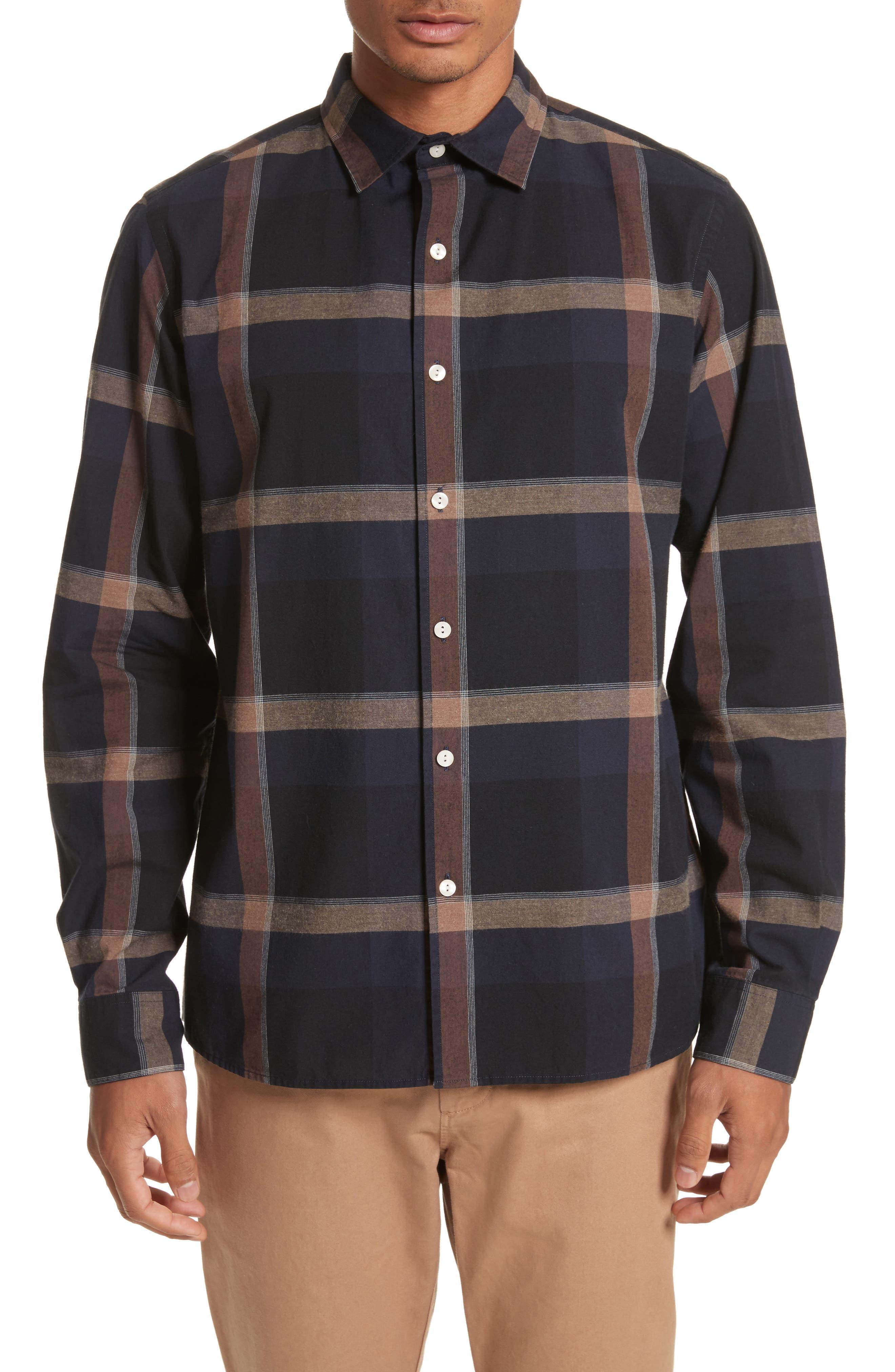 Alternate Image 1 Selected - Saturdays NYC Laslo Check Shirt