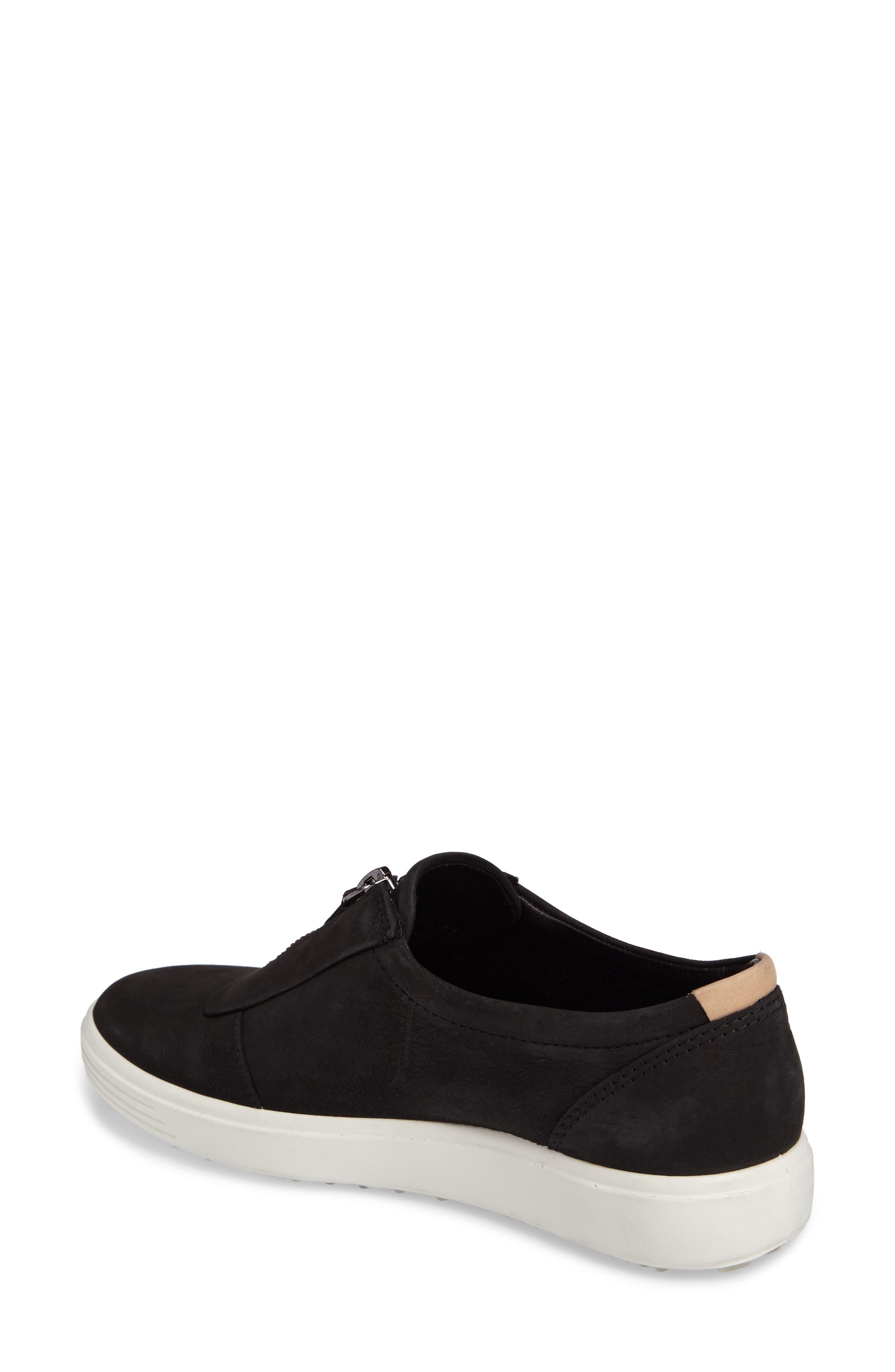 Alternate Image 2  - ECCO Soft 7 Slip-On Sneaker (Women)