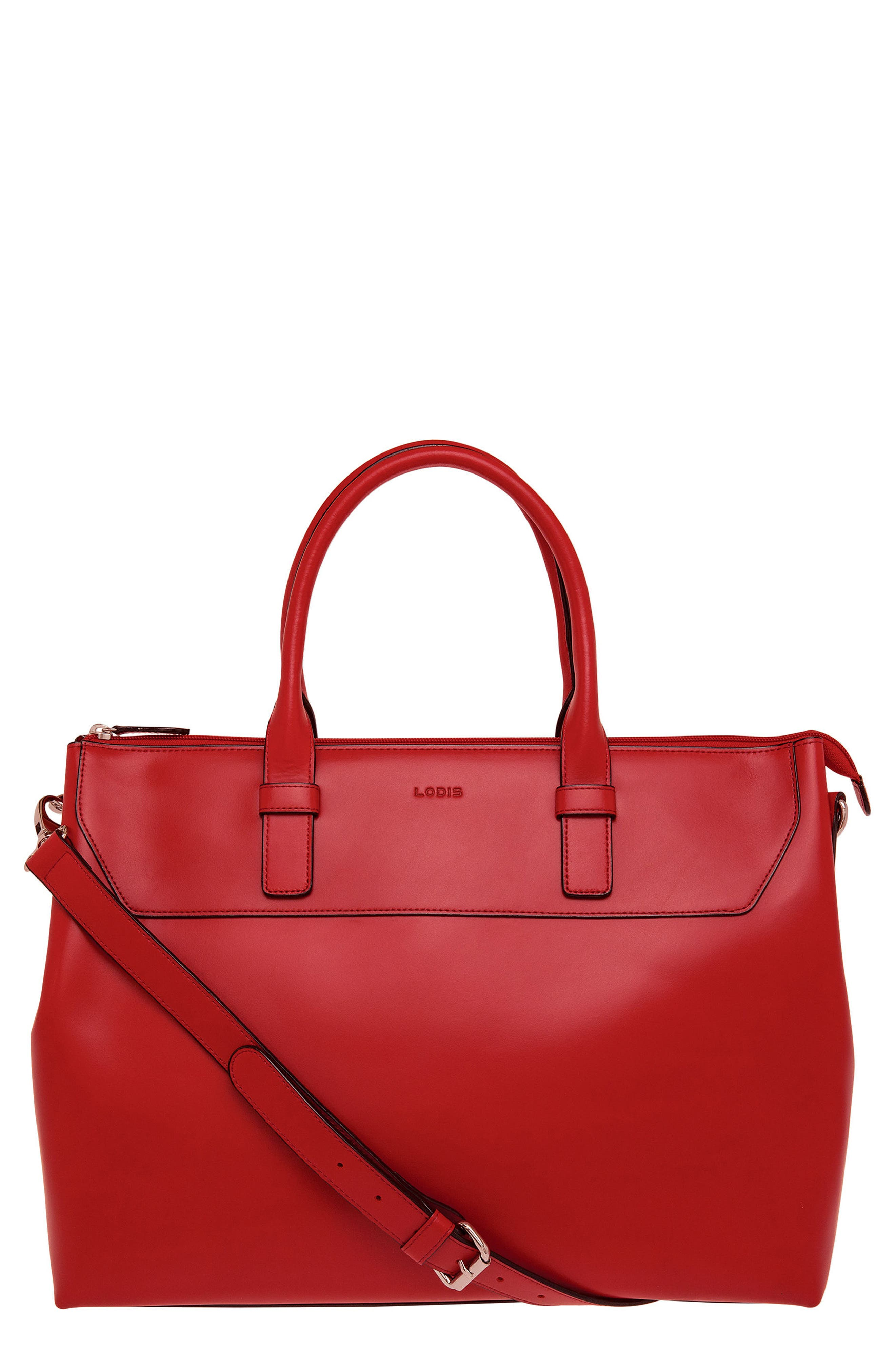 Main Image - Lodis Audrey Wilhelmina Leather Work Satchel