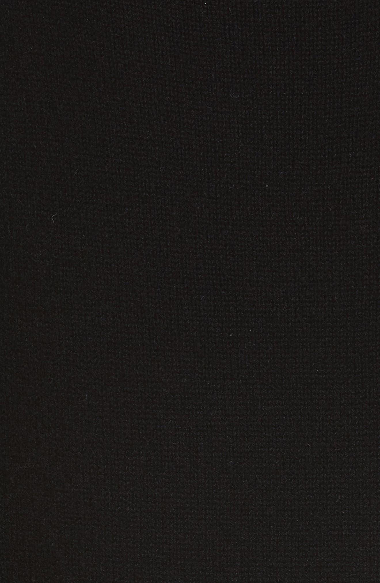 Alternate Image 5  - Vince Off the Shoulder Wool & Cashmere Sweater Dress