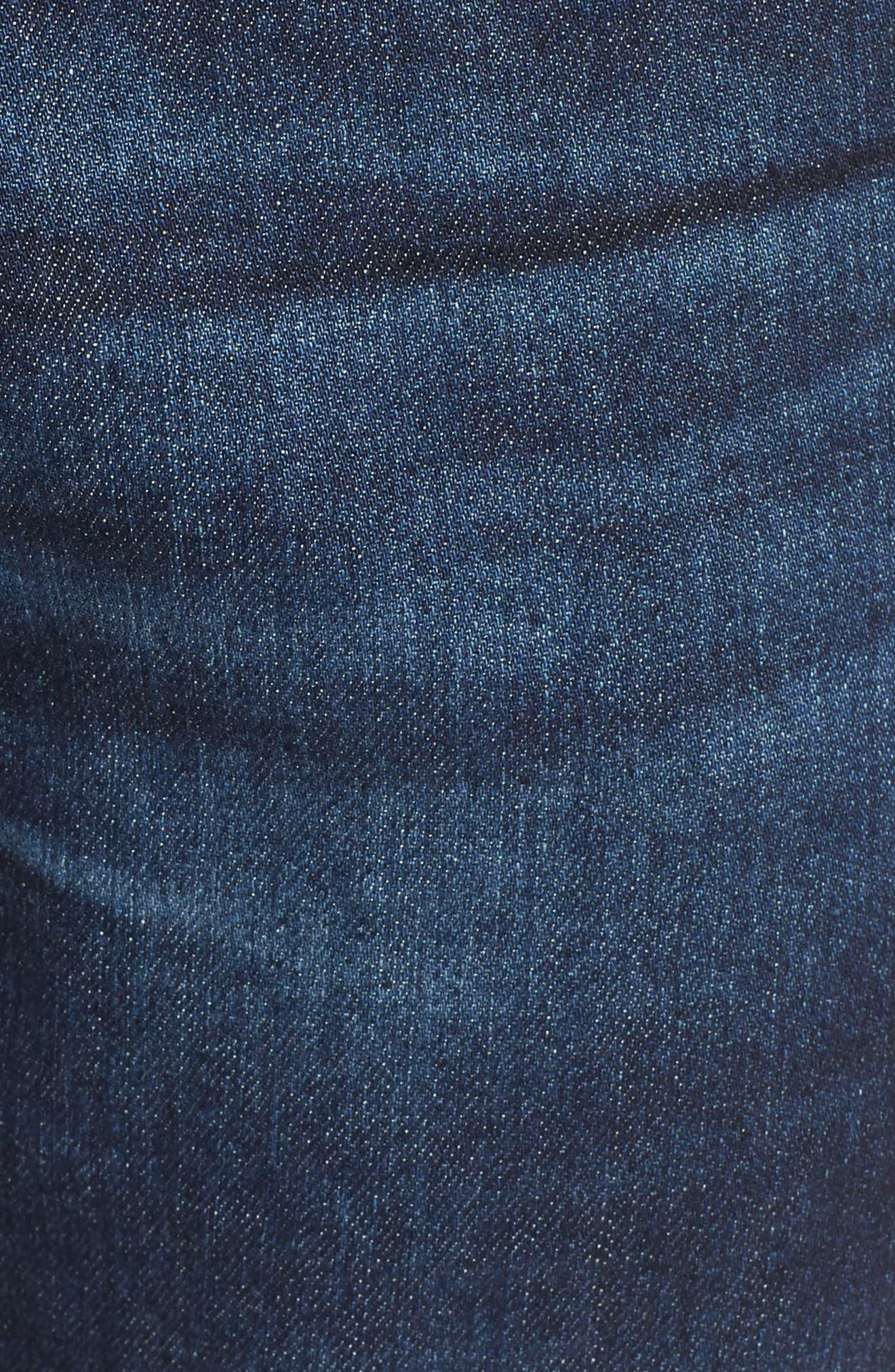 Alternate Image 5  - AG Everett Slim Straight Leg Jeans (Obscure)