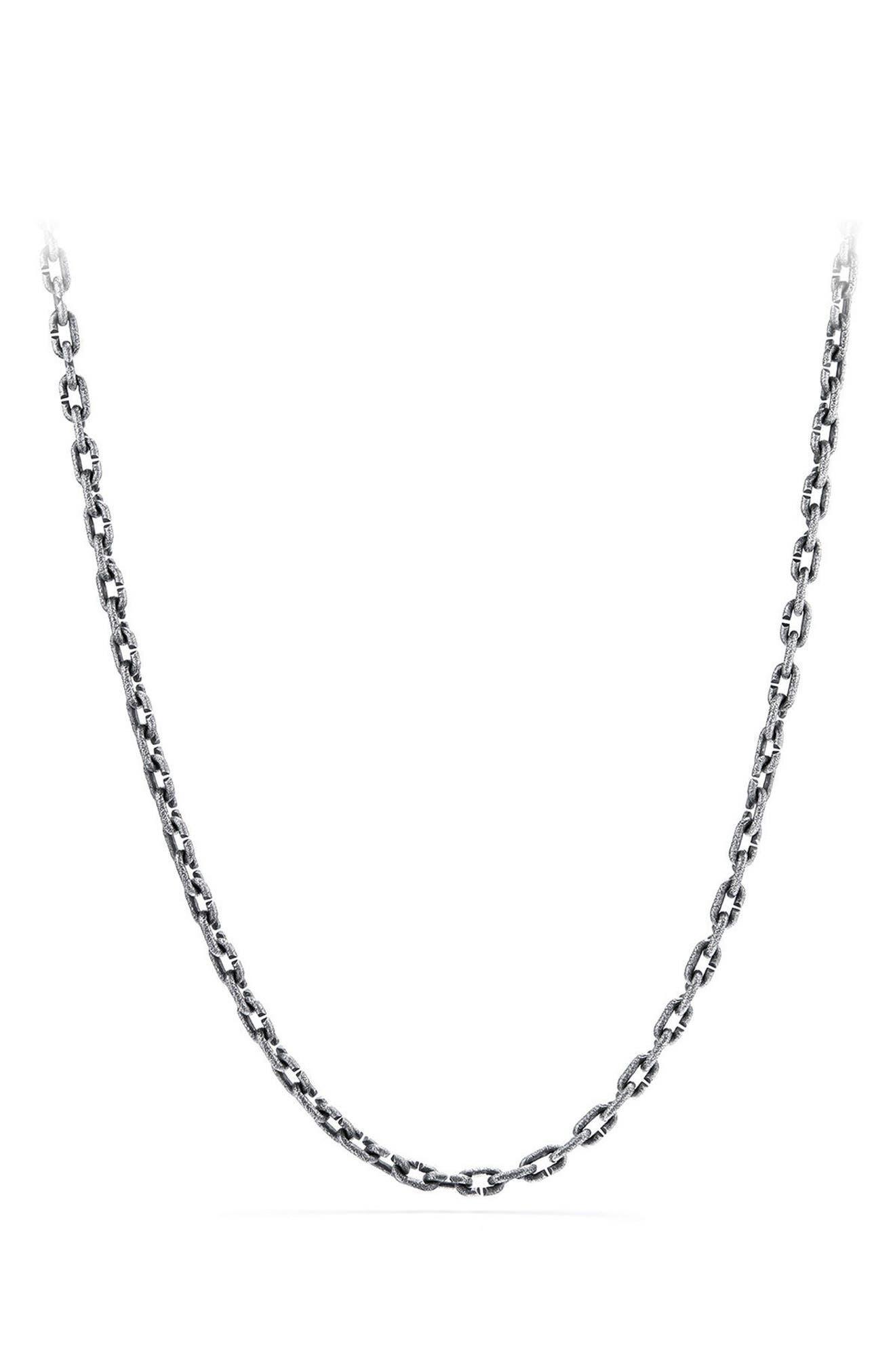 Shipwreck Chain Necklace,                         Main,                         color, Silver