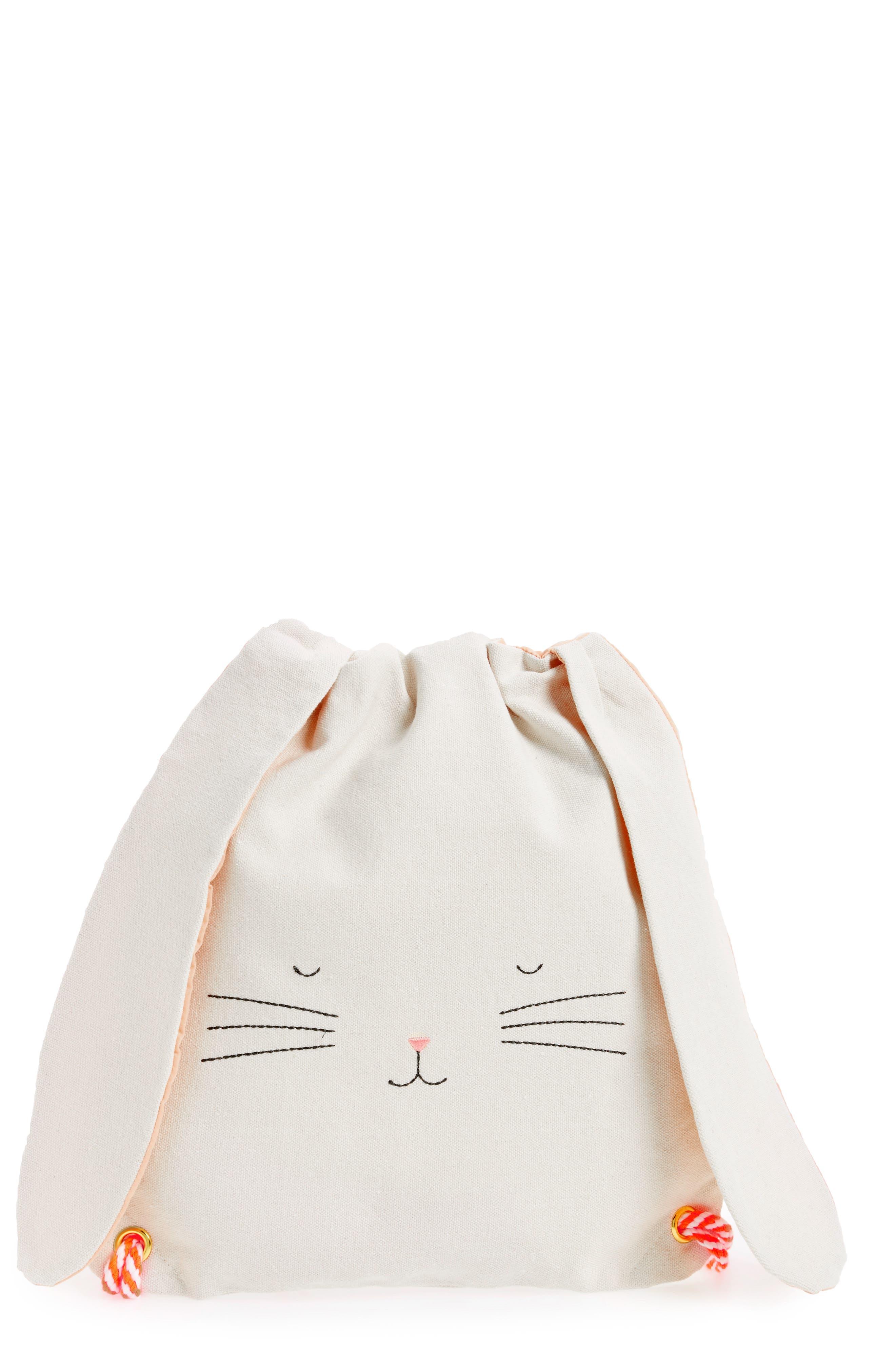 Alternate Image 1 Selected - Meri Meri Bunny Backpack (Kids)