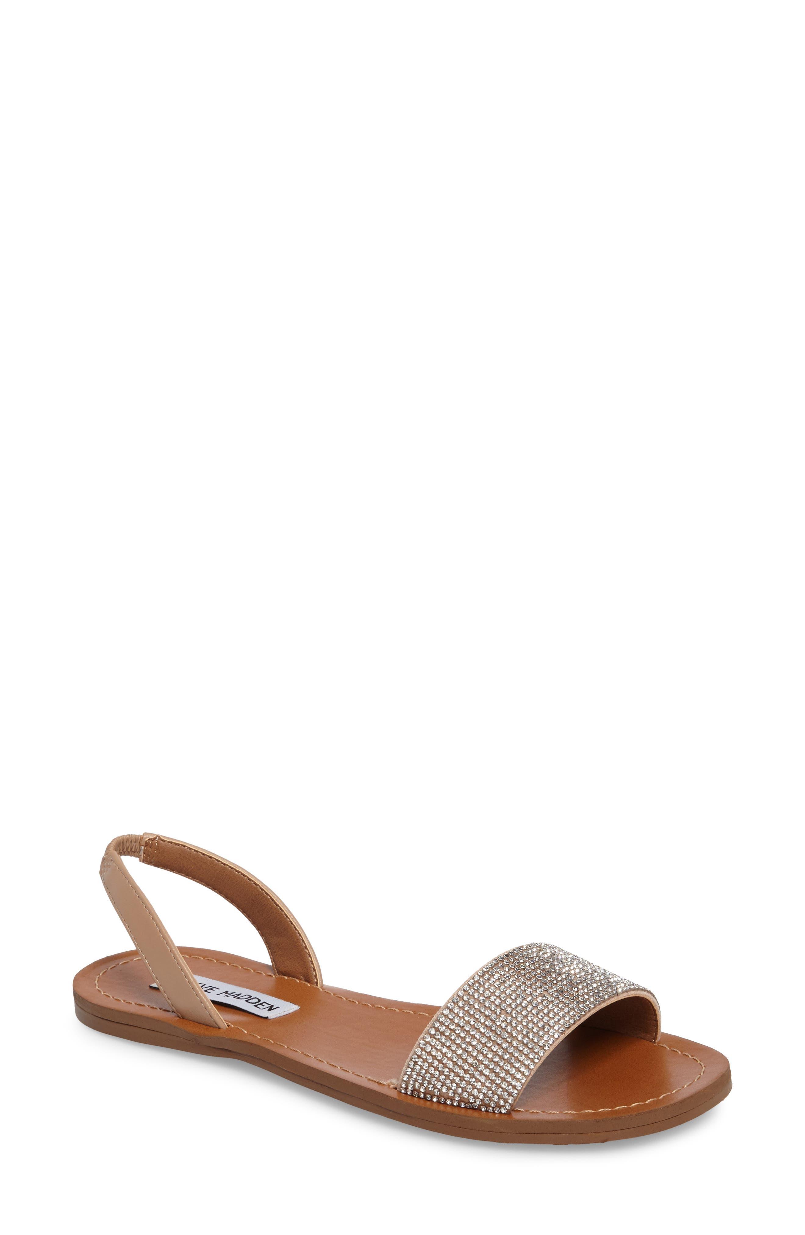 Rock Sandal,                         Main,                         color, Rhinestone Faux Leather