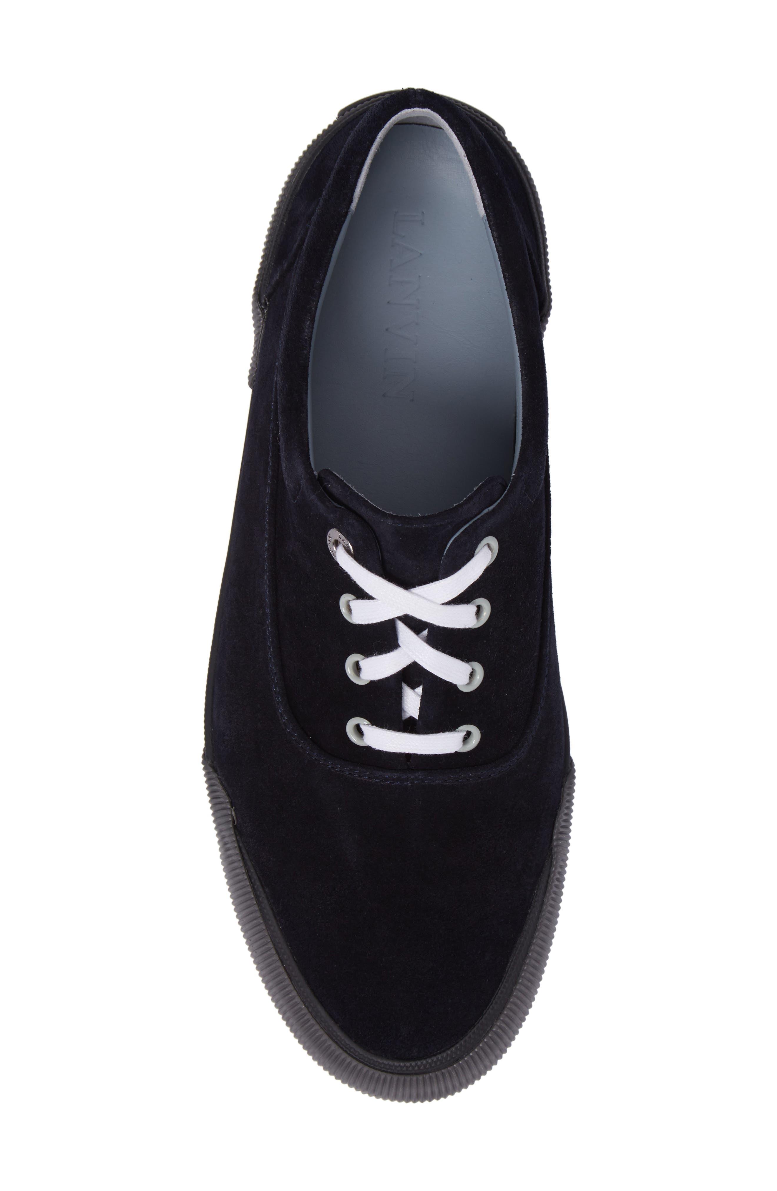 Alternate Image 5  - Lanvin Suede Sneaker (Men)