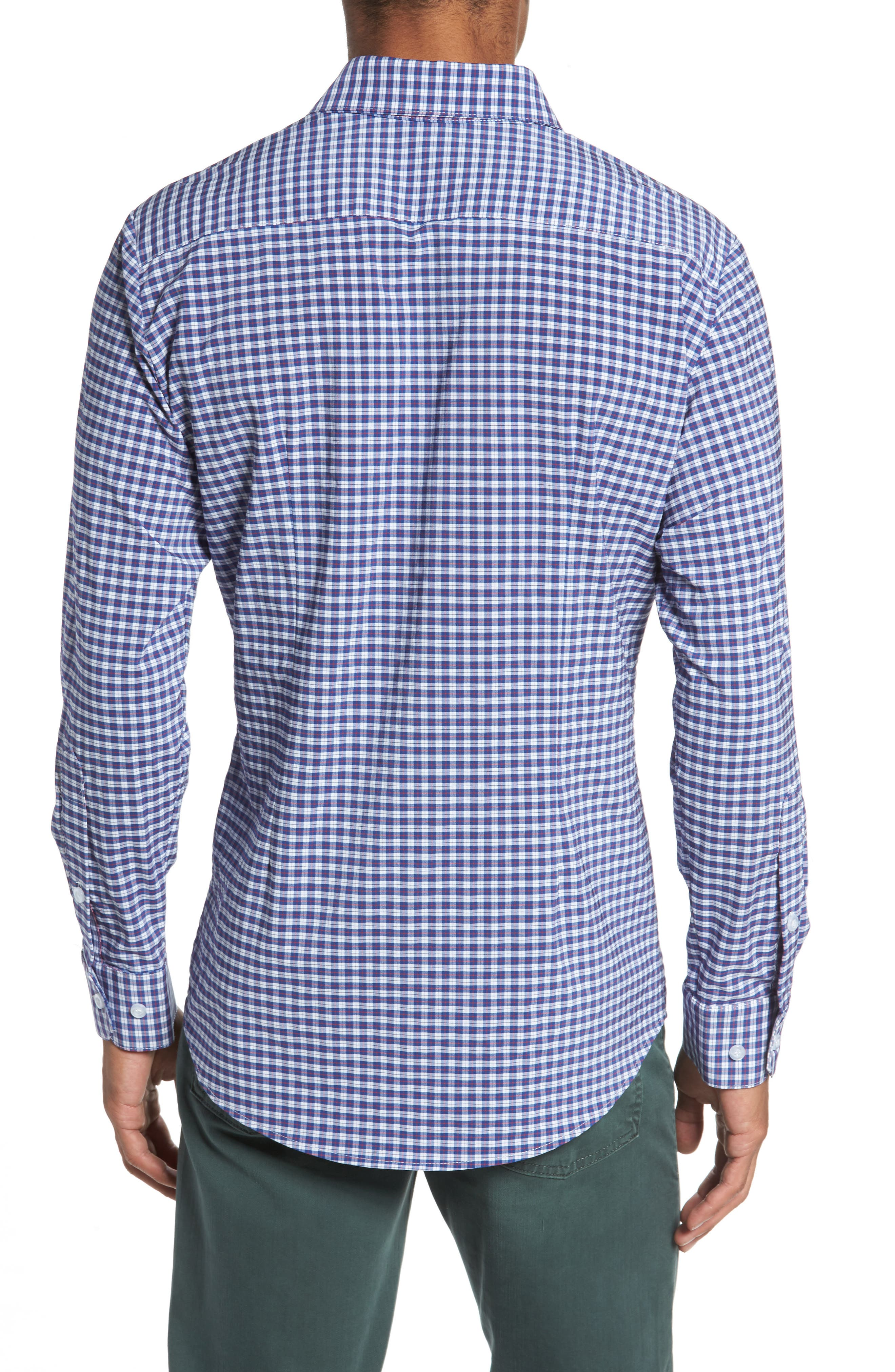 Alternate Image 2  - Mizzen+Main Howe 2.0 Plaid Sport Shirt