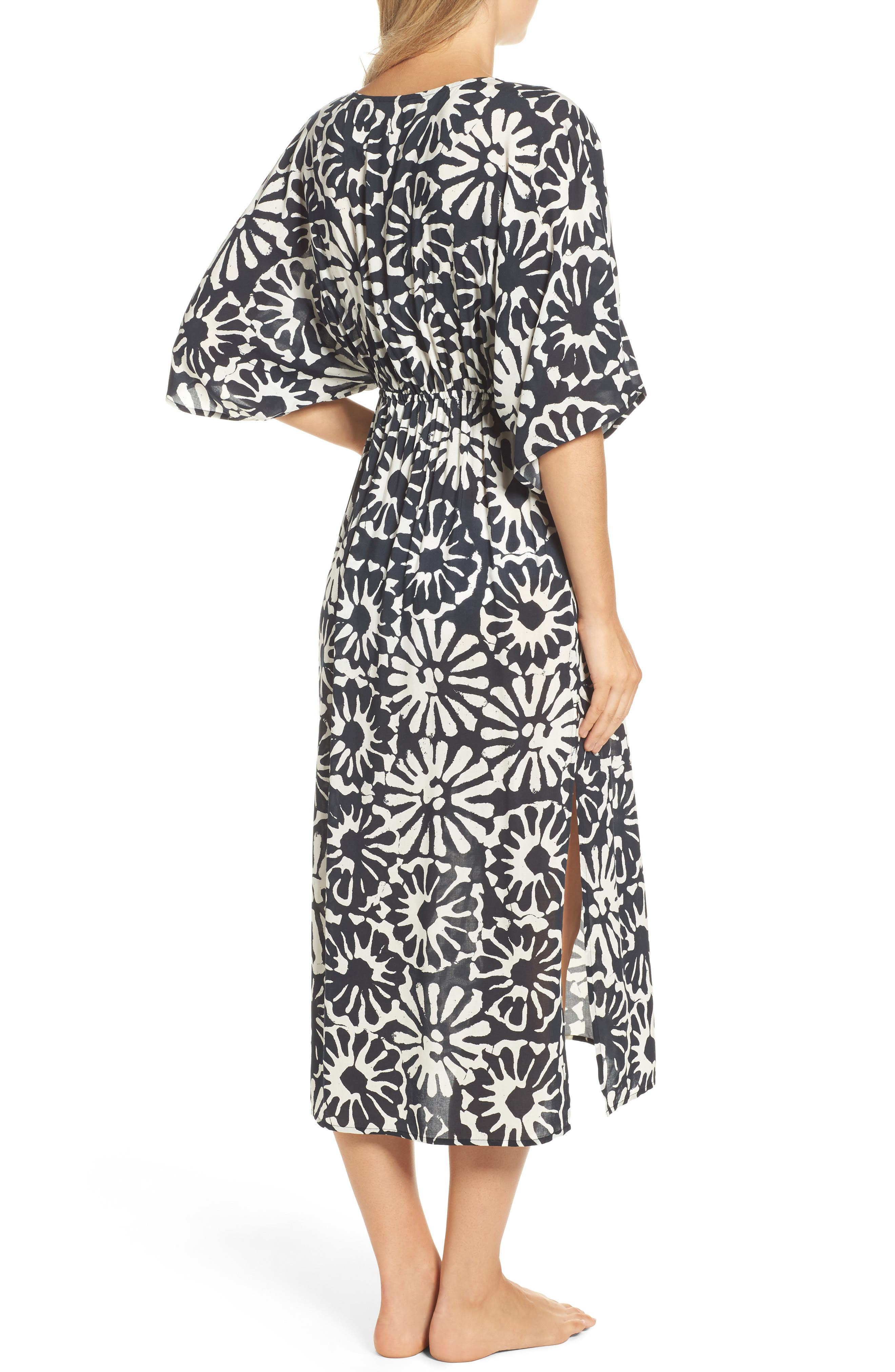 Alternate Image 2  - Tory Burch Pomelo Floral Cover-Up Dress