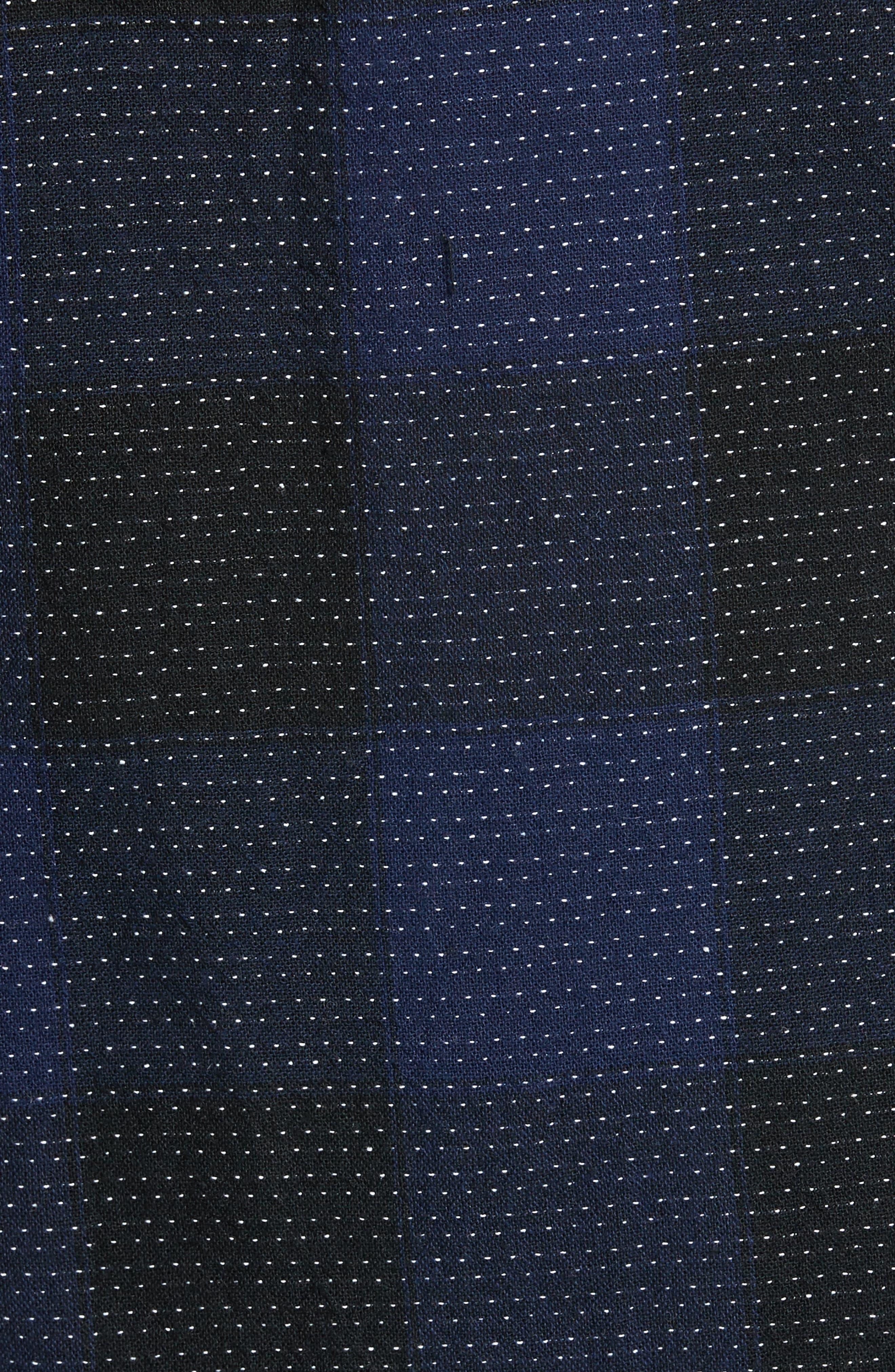 Alternate Image 5  - 1901 Dot Buffalo Plaid Shirt