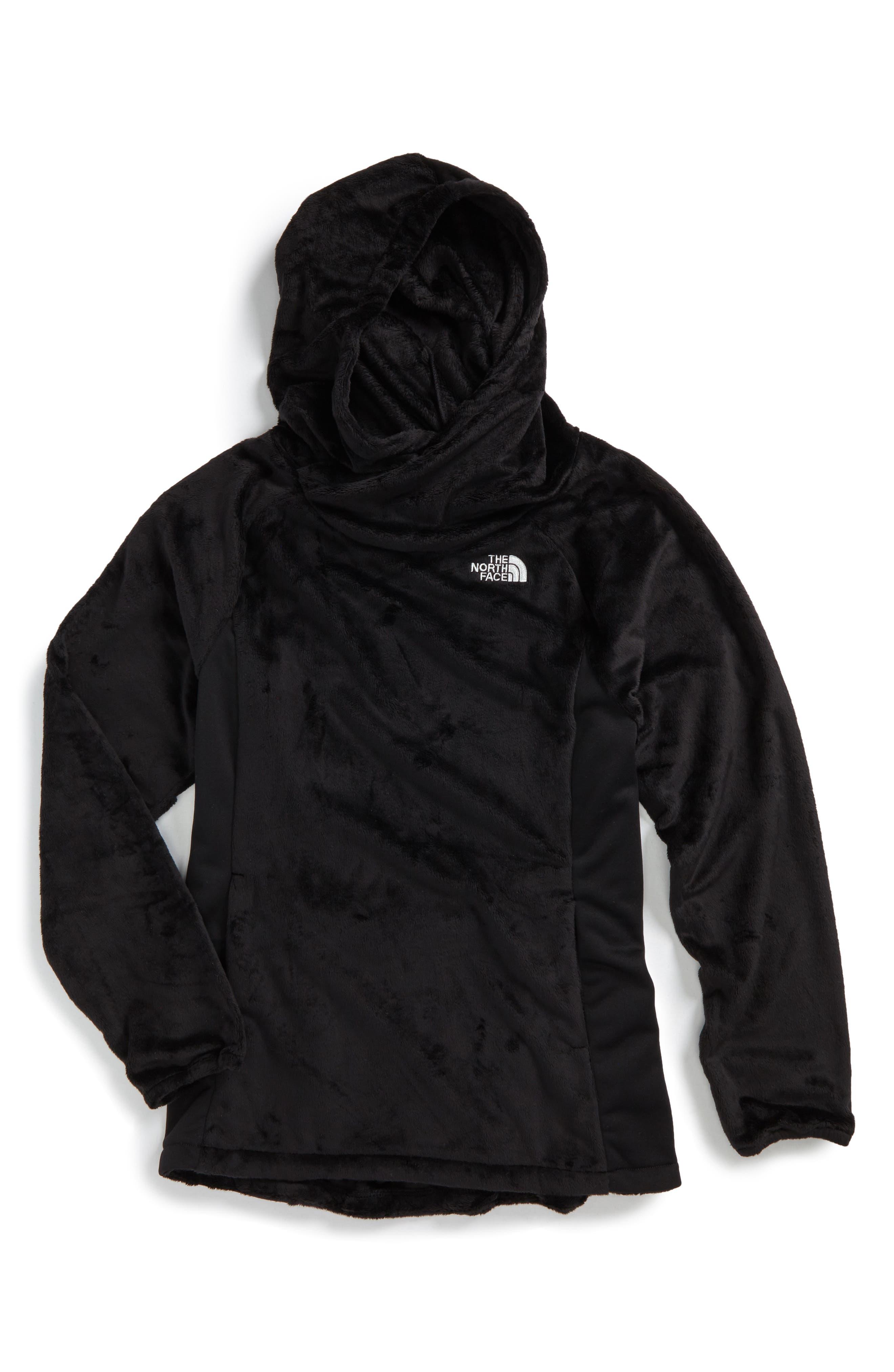 Oso Fleece Pullover,                             Main thumbnail 1, color,                             Tnf Black