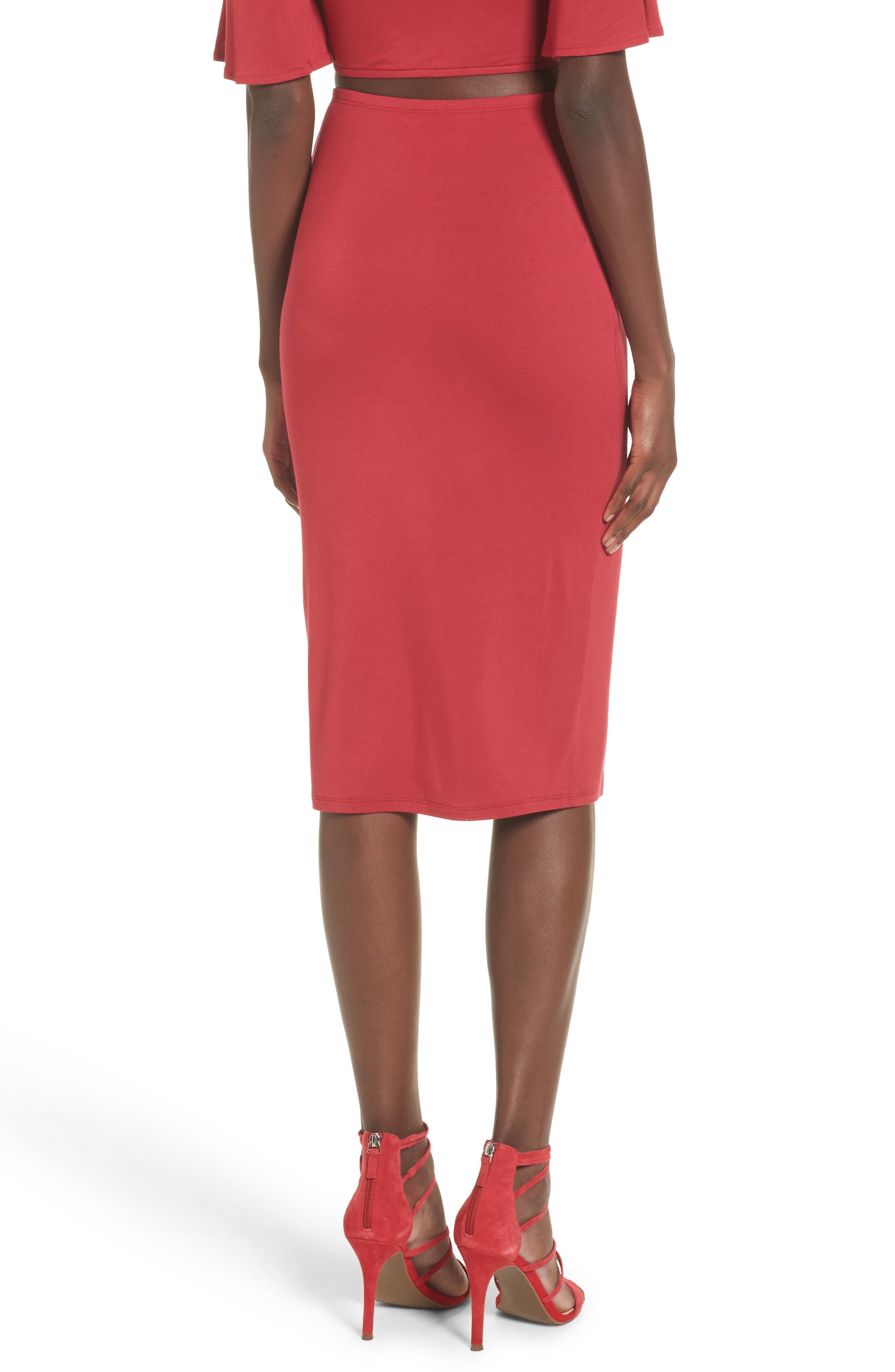 Alternate Image 2  - Privacy Please Canyon Midi Skirt