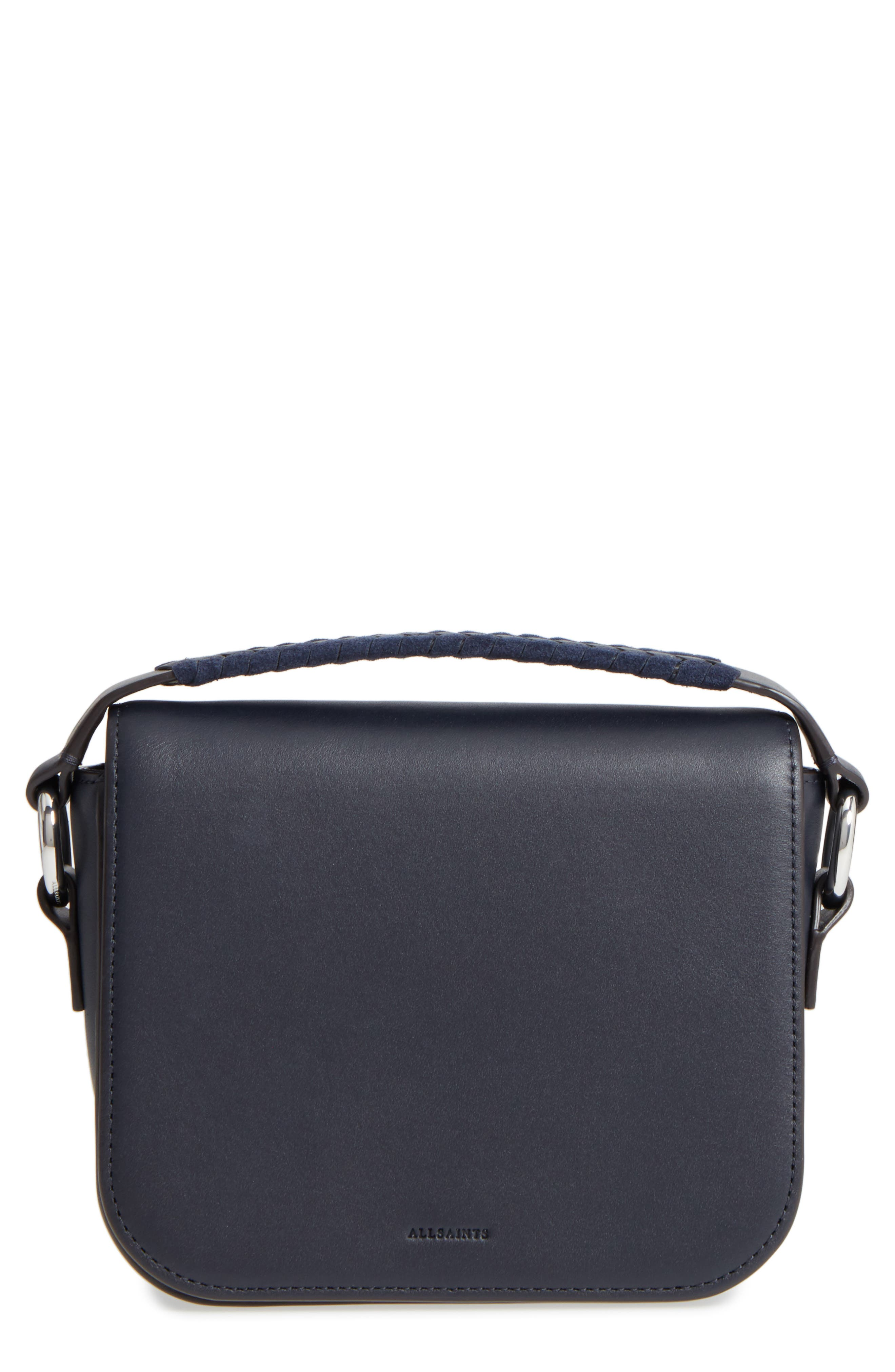 Main Image - ALLSAINTS Ray Leather Clutch