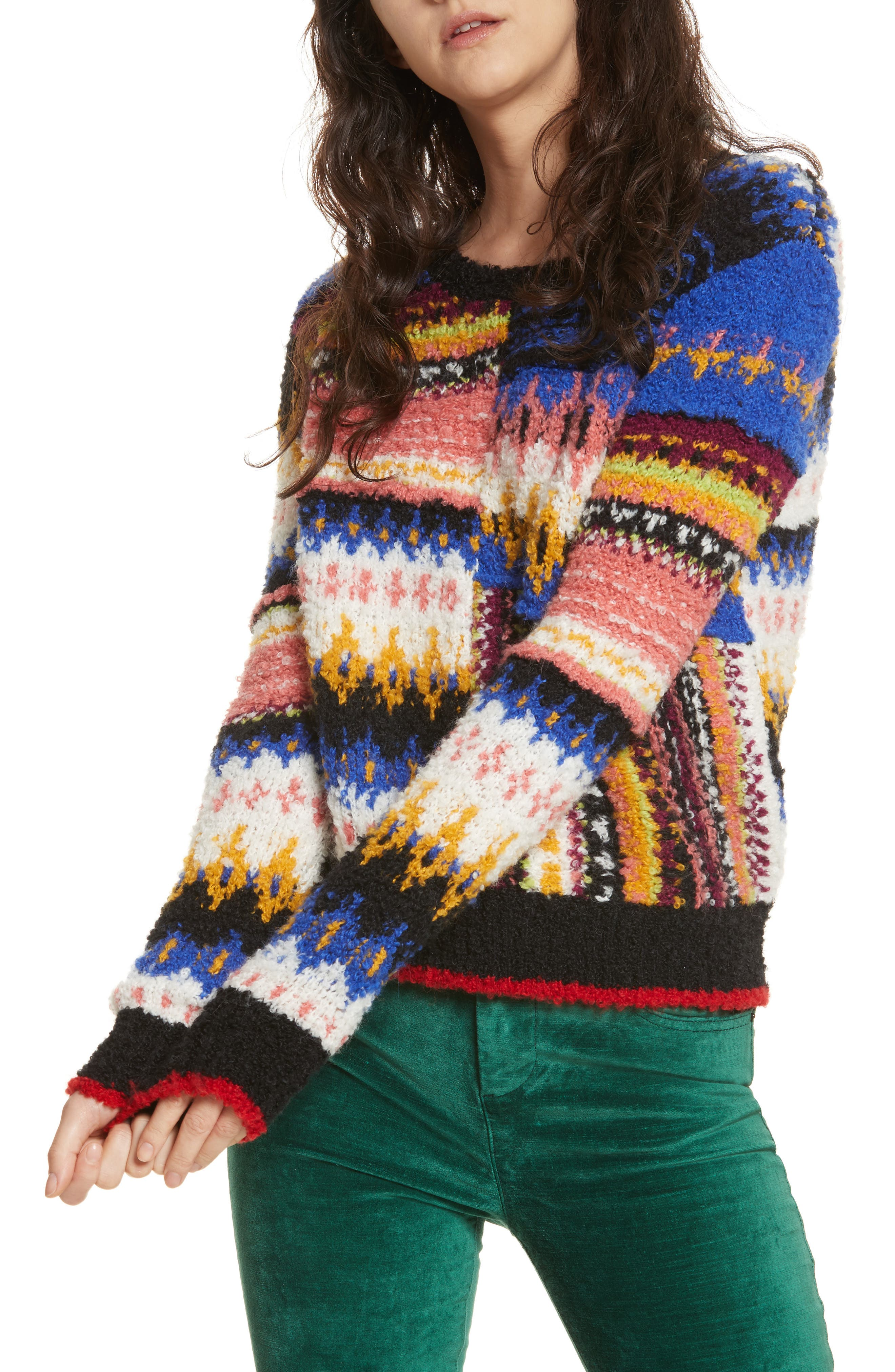 Best Day Ever Sweater,                             Main thumbnail 1, color,                             Multi