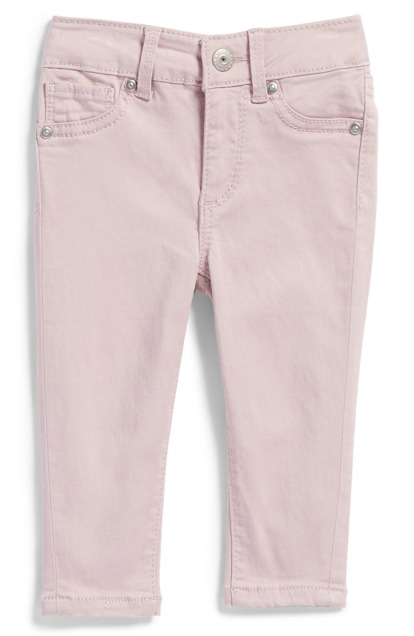 Alternate Image 1 Selected - ag adriano goldschmied kids Twiggy Ankle Skinny Jeans (Baby Girls)