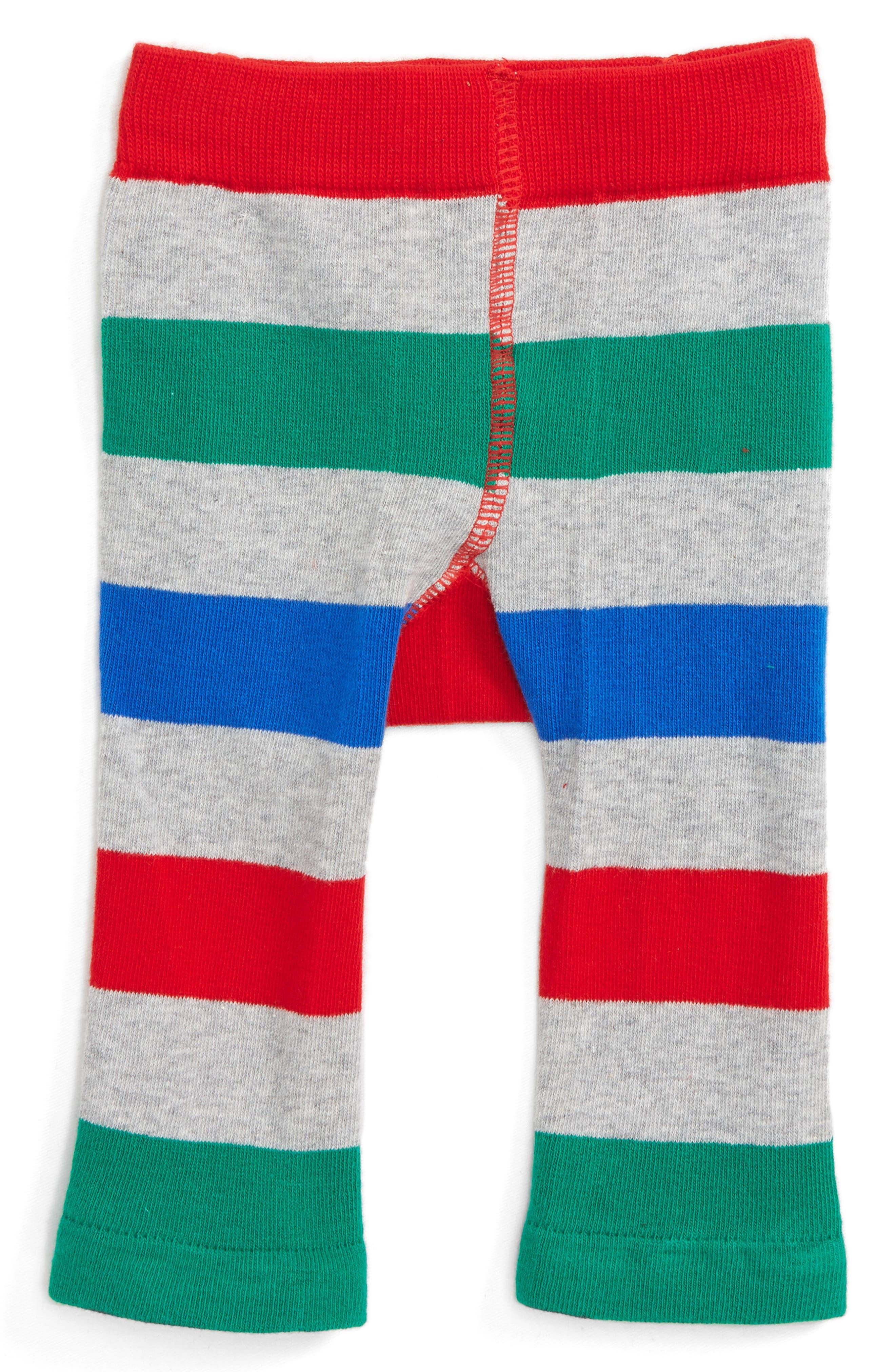 Giraffe Leggings,                             Alternate thumbnail 2, color,                             Green / Grey Marl / Blue / Red
