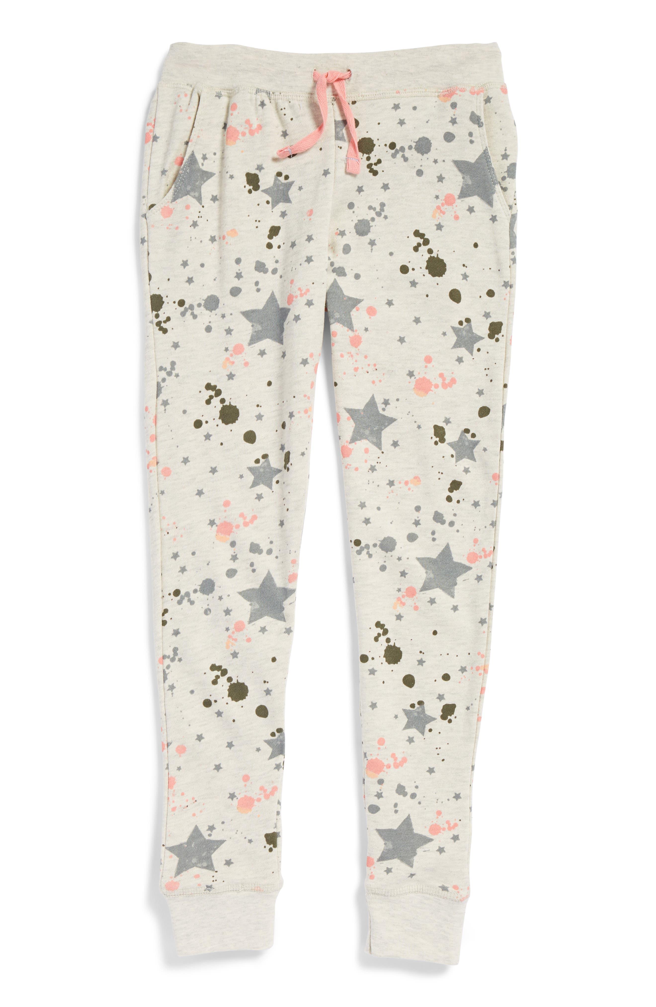 Jogger Sweatpants,                         Main,                         color, Oatmeal Cream