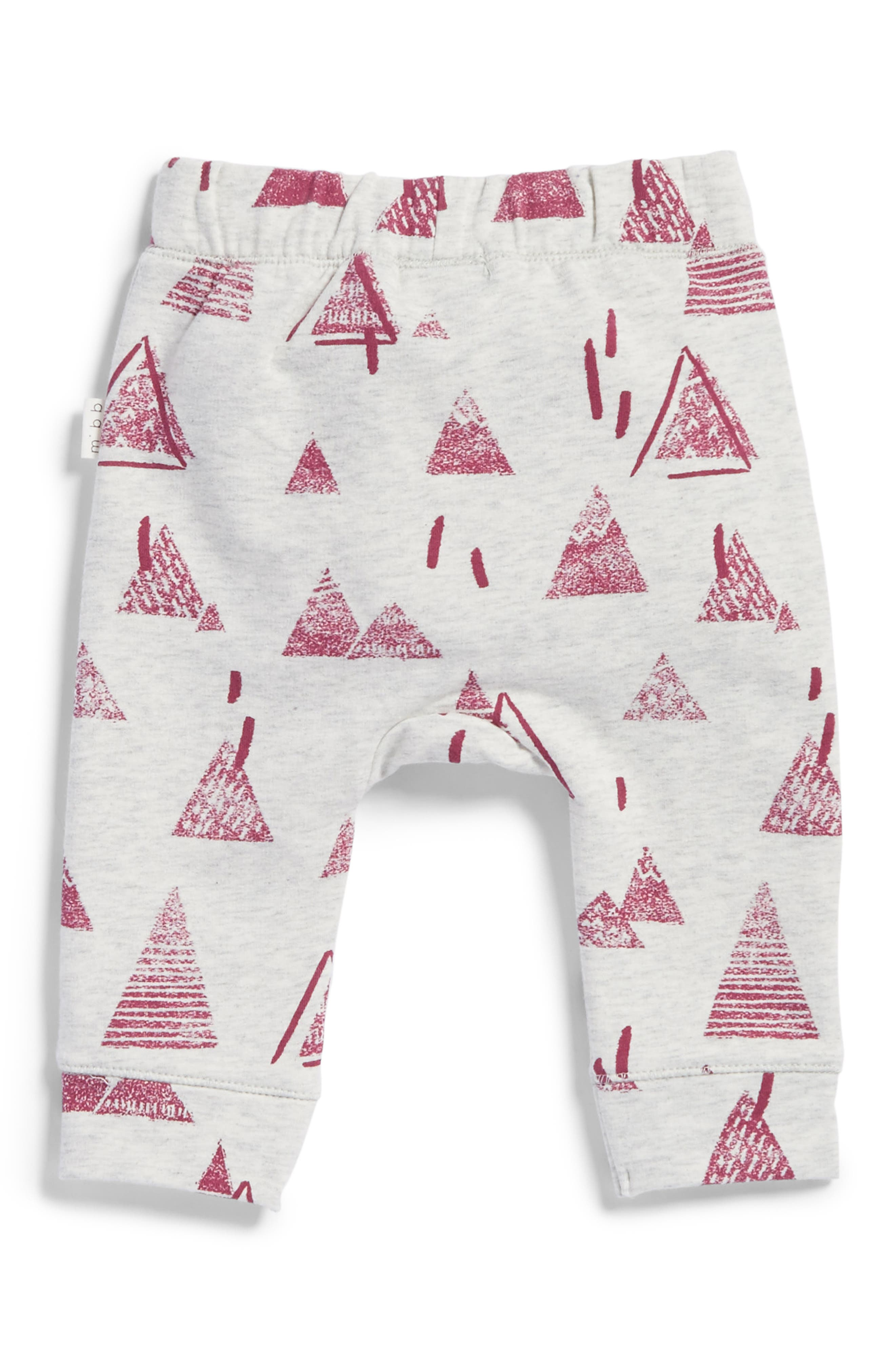 Alternate Image 2  - Miles Baby Knit Pants (Baby Girls)