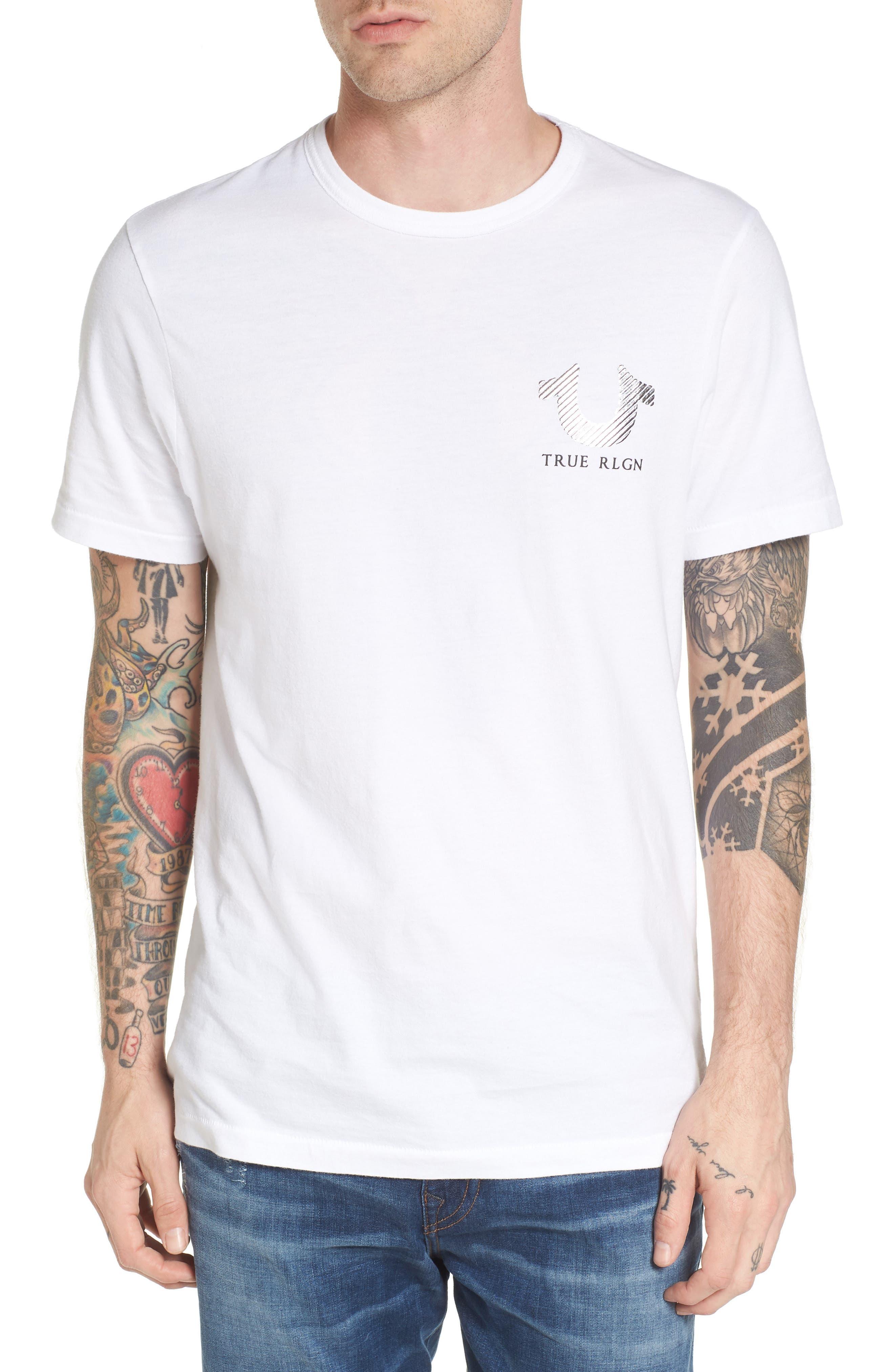 Main Image - True Religion Brand Jeans Logo Graphic T-Shirt