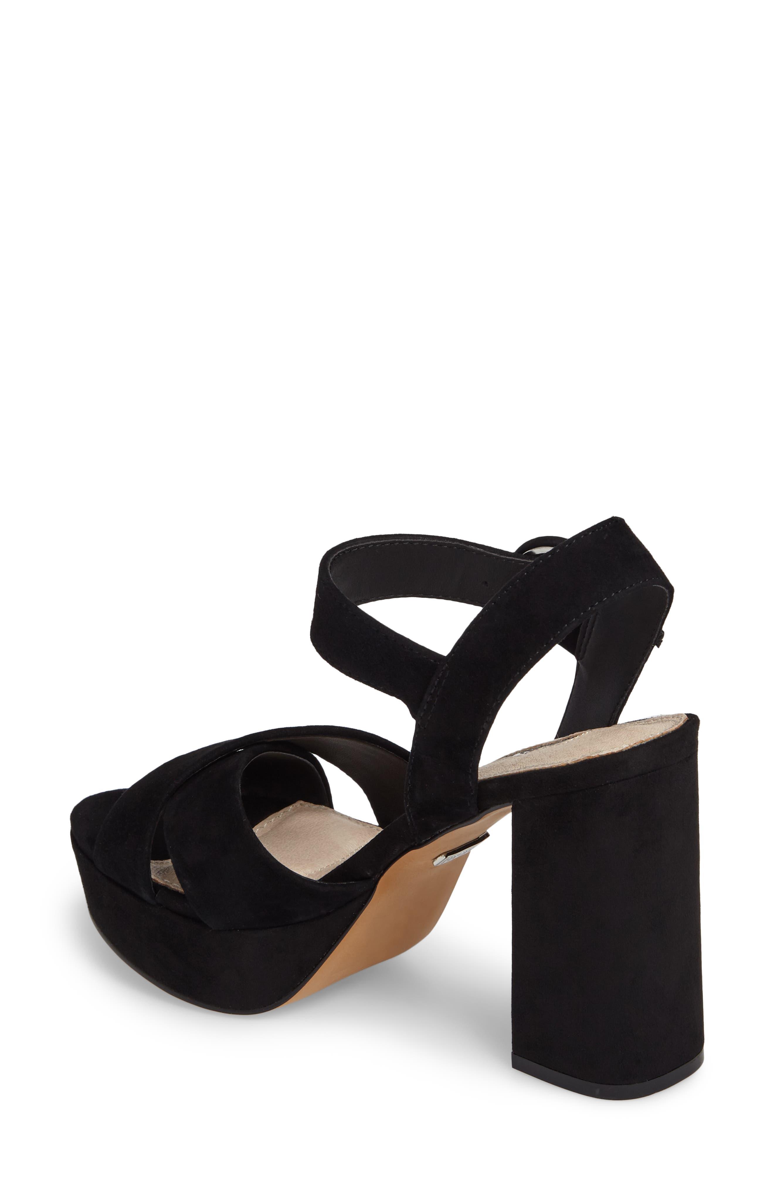Alternate Image 2  - Topshop Cross Strap Platform Sandal (Women)